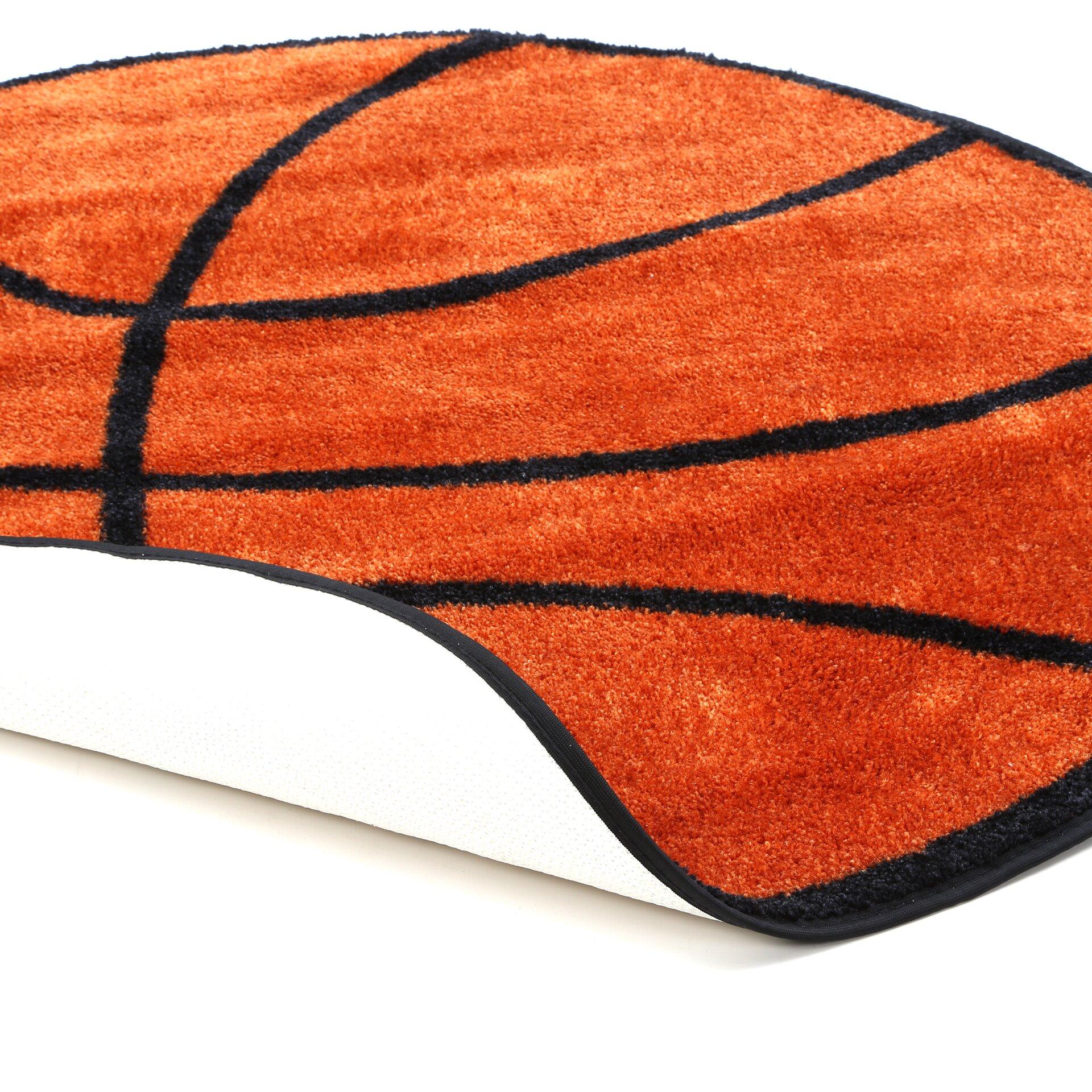 Fun Rugs Fun Shape Basketball Area Rug & Reviews
