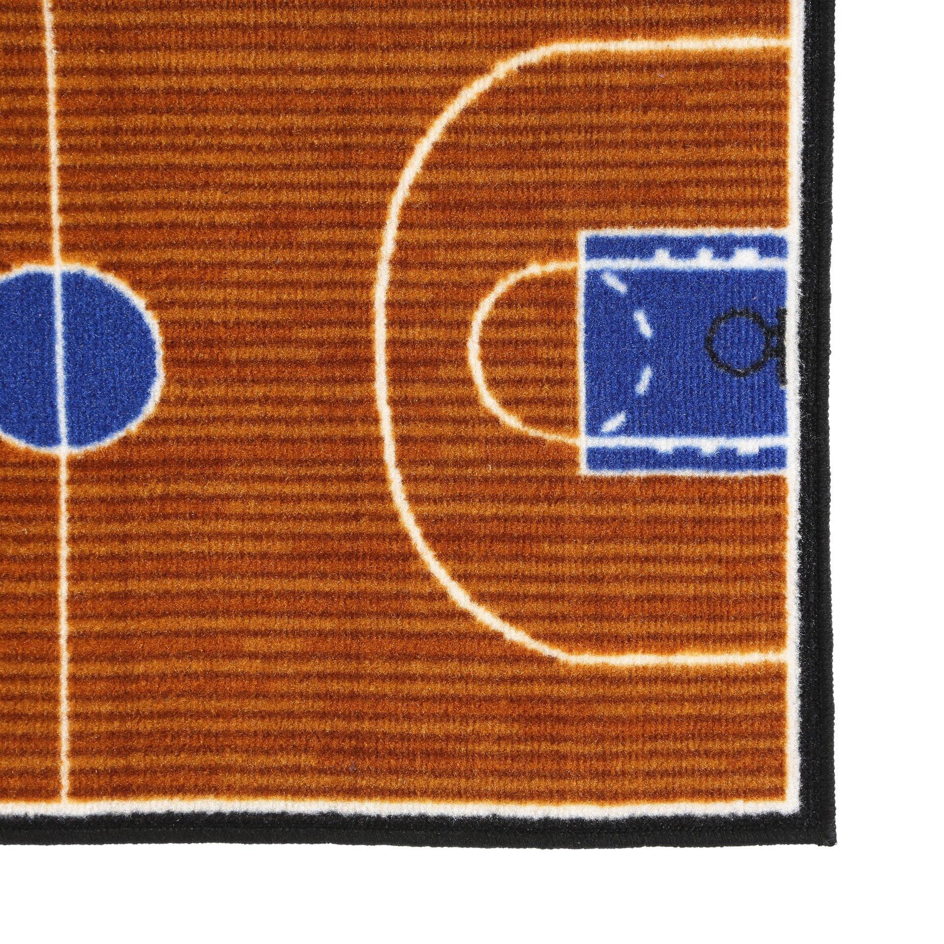 Sports Area Rugs Donnieann 174 5x8 Themed