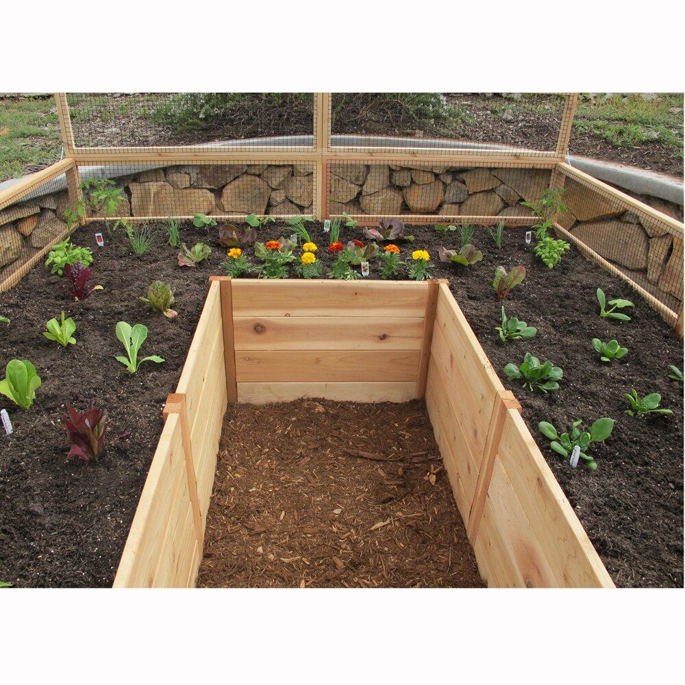 Outdoor Living Today Rectangular Raised Garden | Wayfair on Garden And Outdoor Living id=52149