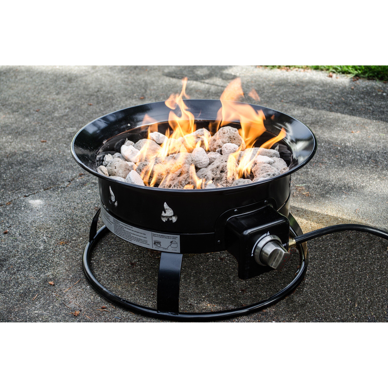 Heininger Heininger Portable Propane Outdoor Fire Pit ...