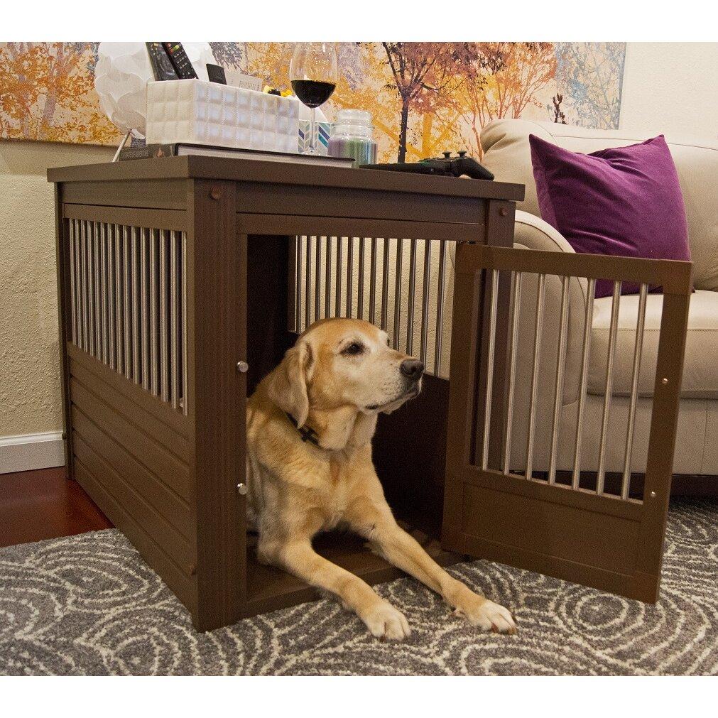 New Age Pet Ecoflex Pet Crate End Table Amp Reviews Wayfair