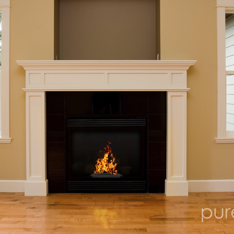 Aquafires Pureflame Bio Ethanol Tabletop Fireplace Insert