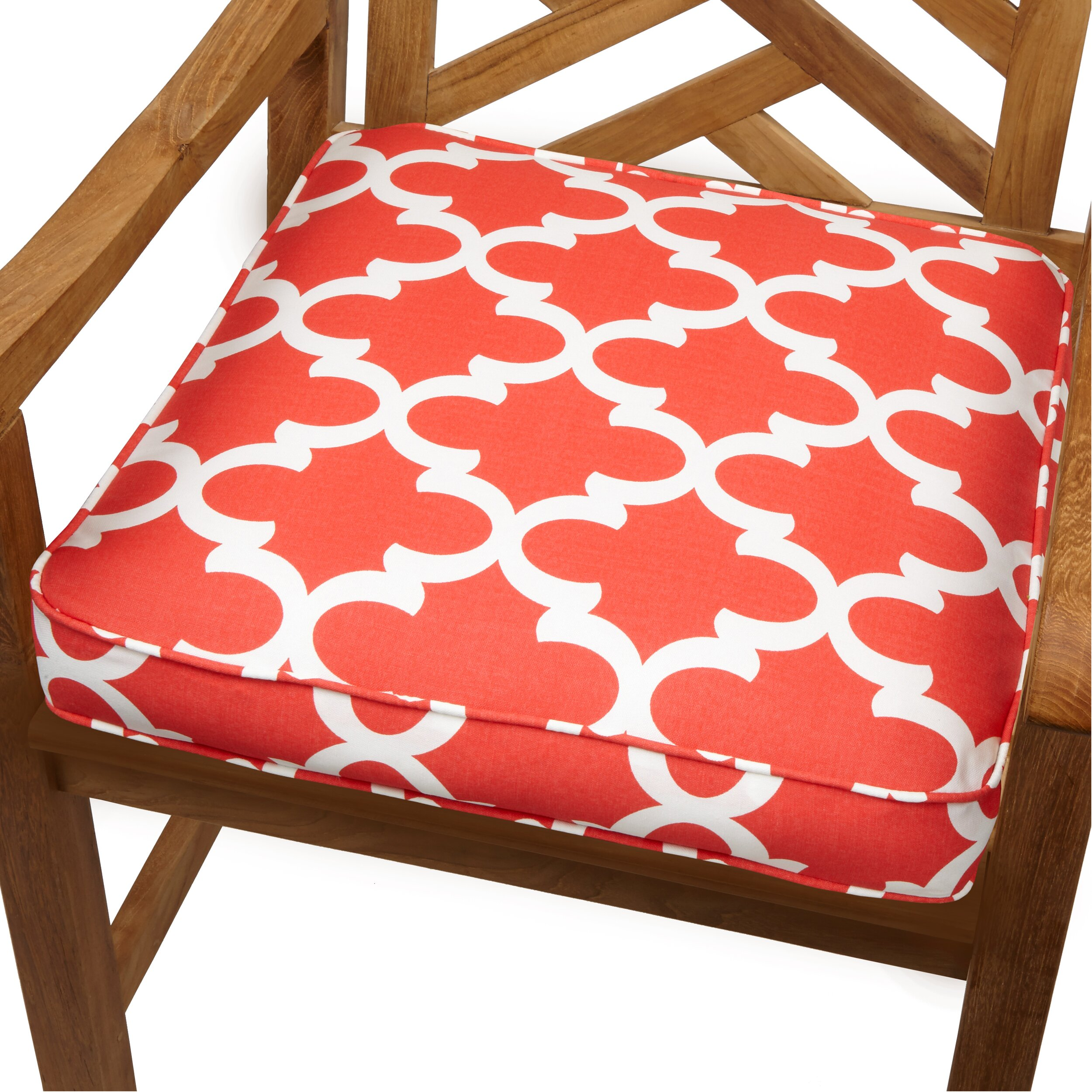 Mozaic Company Stella Outdoor Dining Chair Cushion Reviews Wayfair