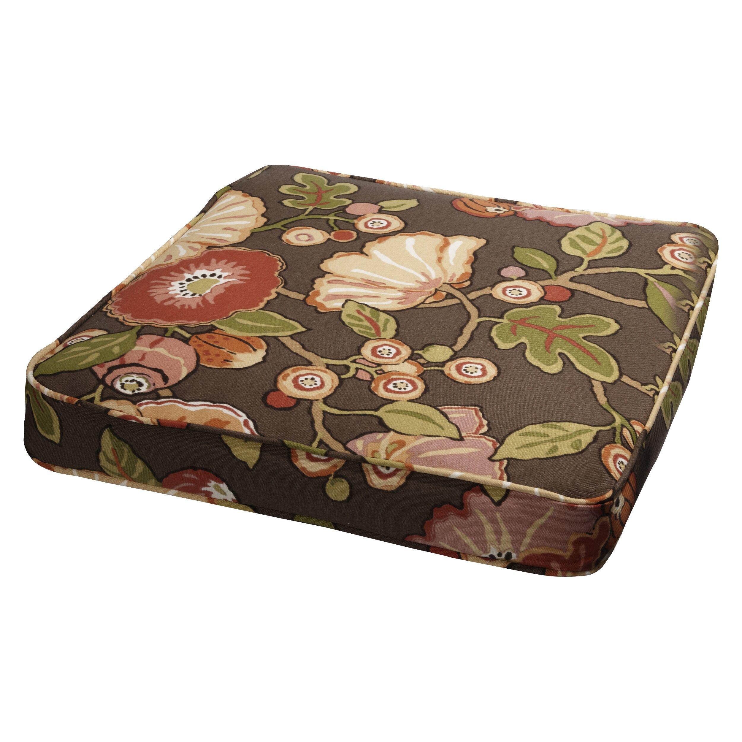 Mozaic Company Stella Outdoor Dining Chair Cushion