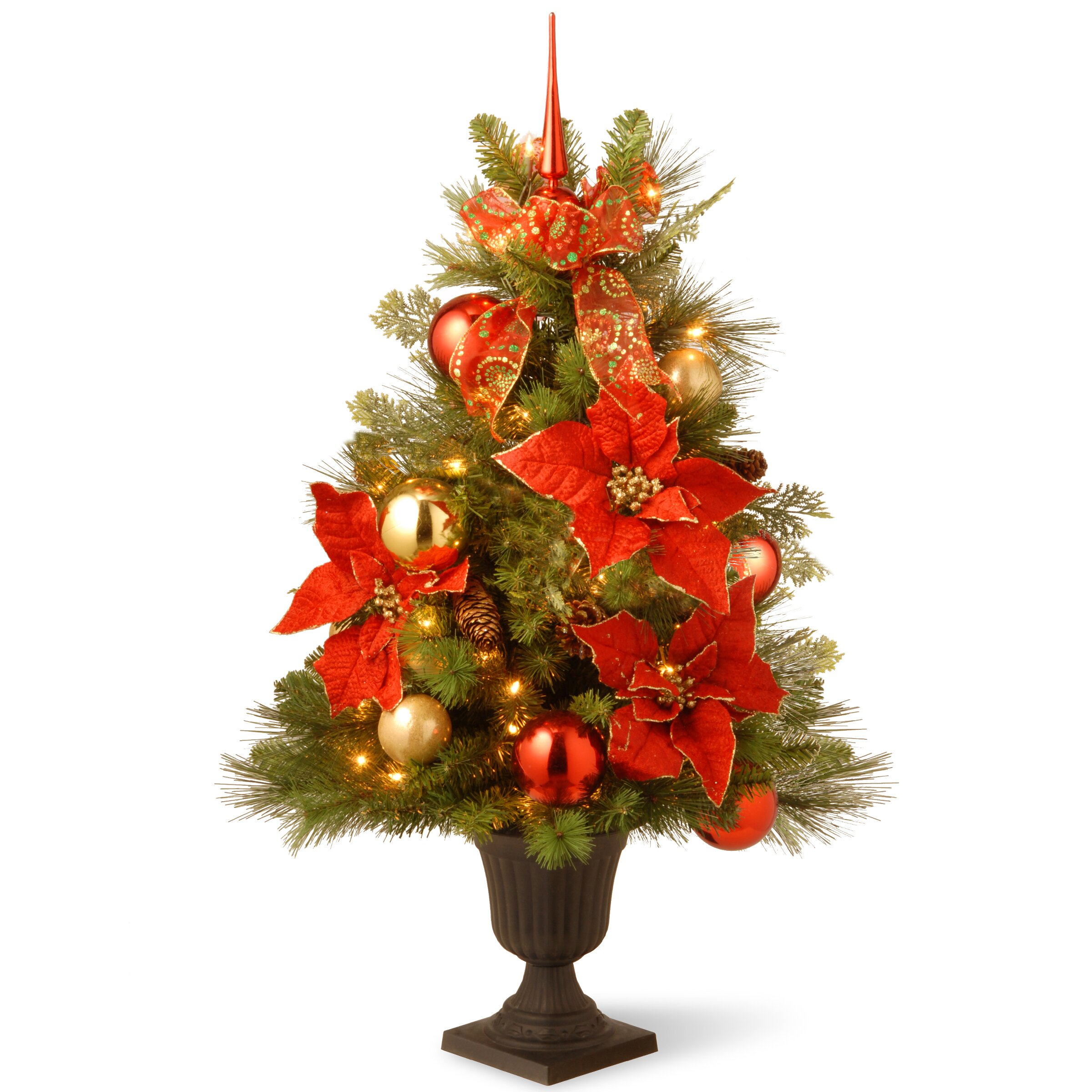 National Tree Co. 3' Green Pine Artificial Christmas Tree