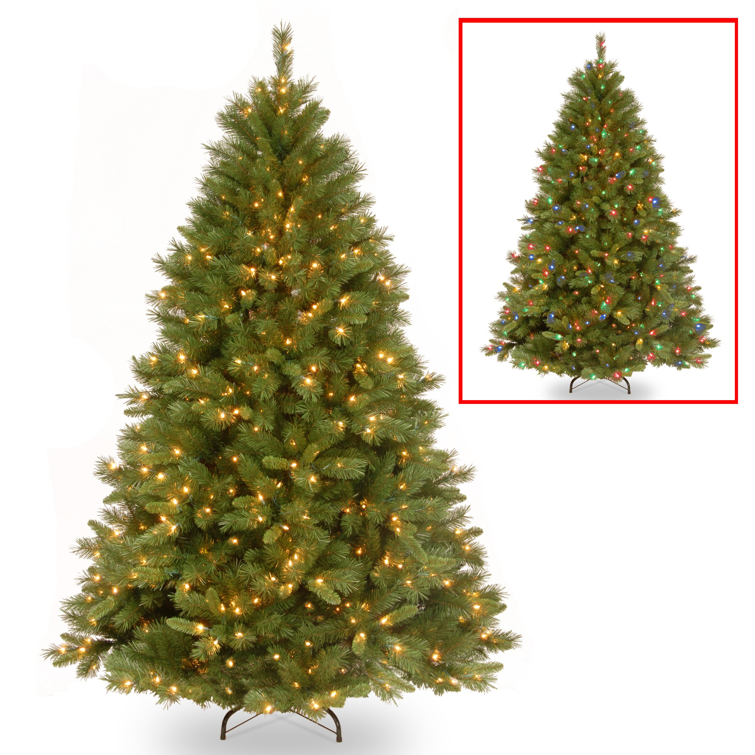 National Tree Co Winchester 7 5 39 Green Pine Artificial