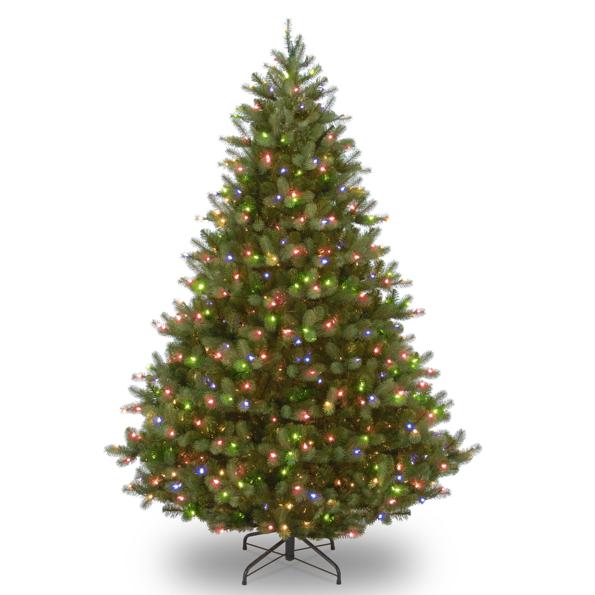 Douglas Fir Artificial Christmas Trees: National Tree Co. Downswept Douglas 9' Green Fir