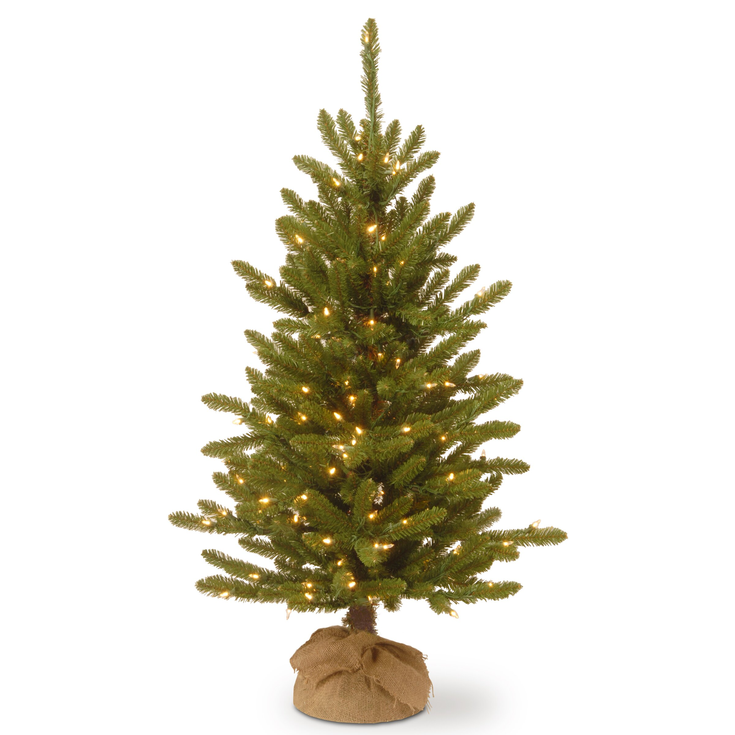 National Tree Co. 4' Green Artificial Christmas Tree with ...