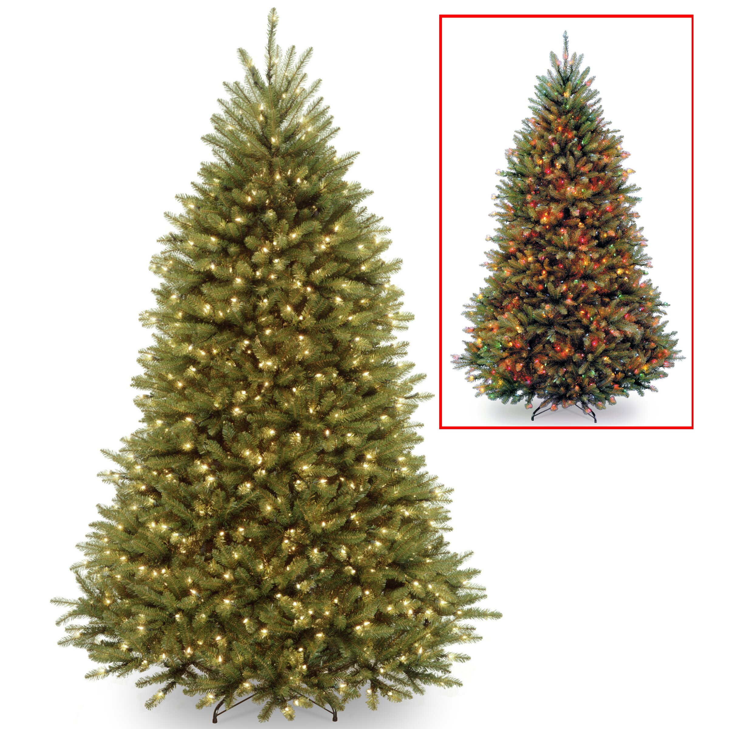 National Tree Co Dunhill 7 5 39 Green Fir Artificial