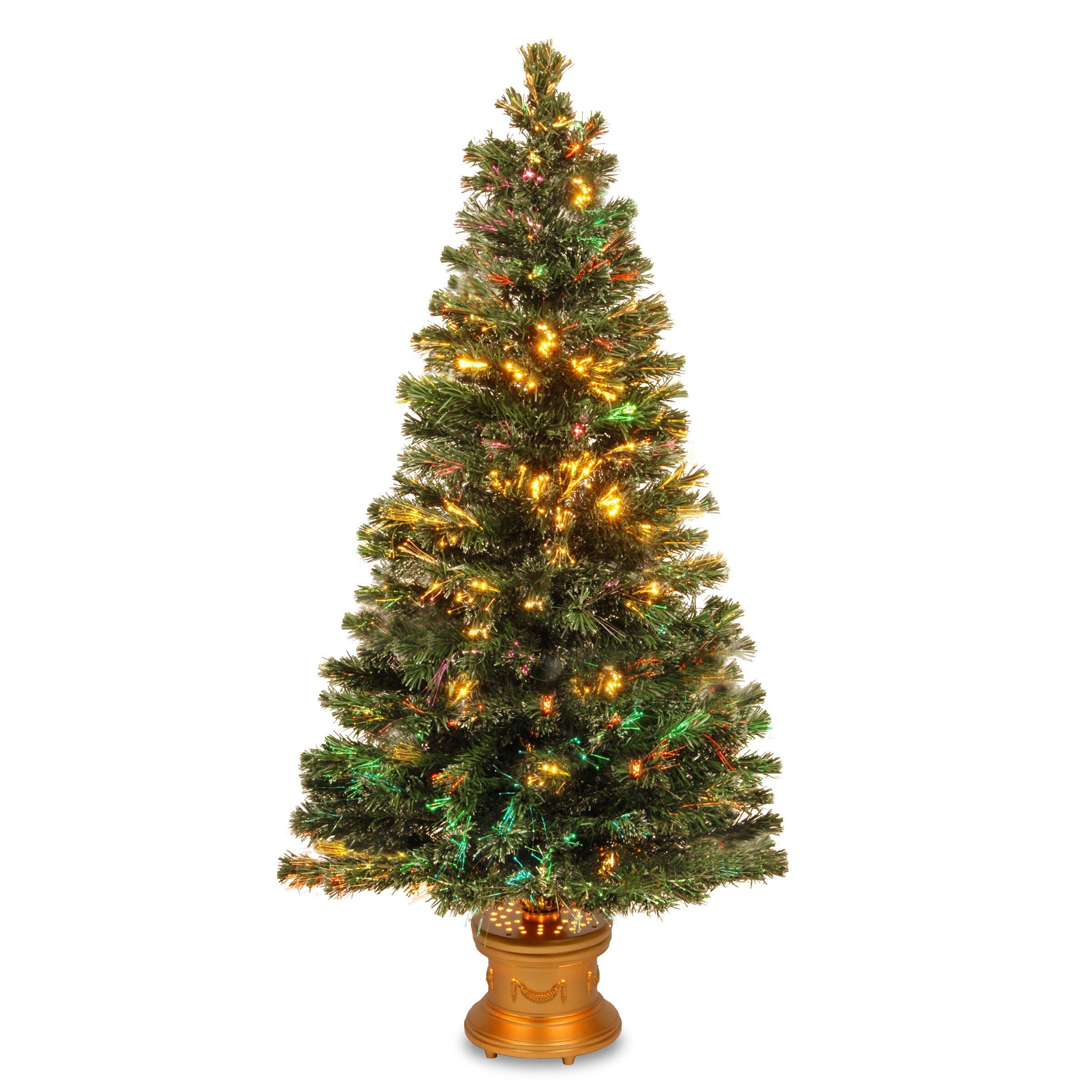 Christmas Tree Fiber Optic Lights: National Tree Co. Fiber Optics Evergreen Firework 5
