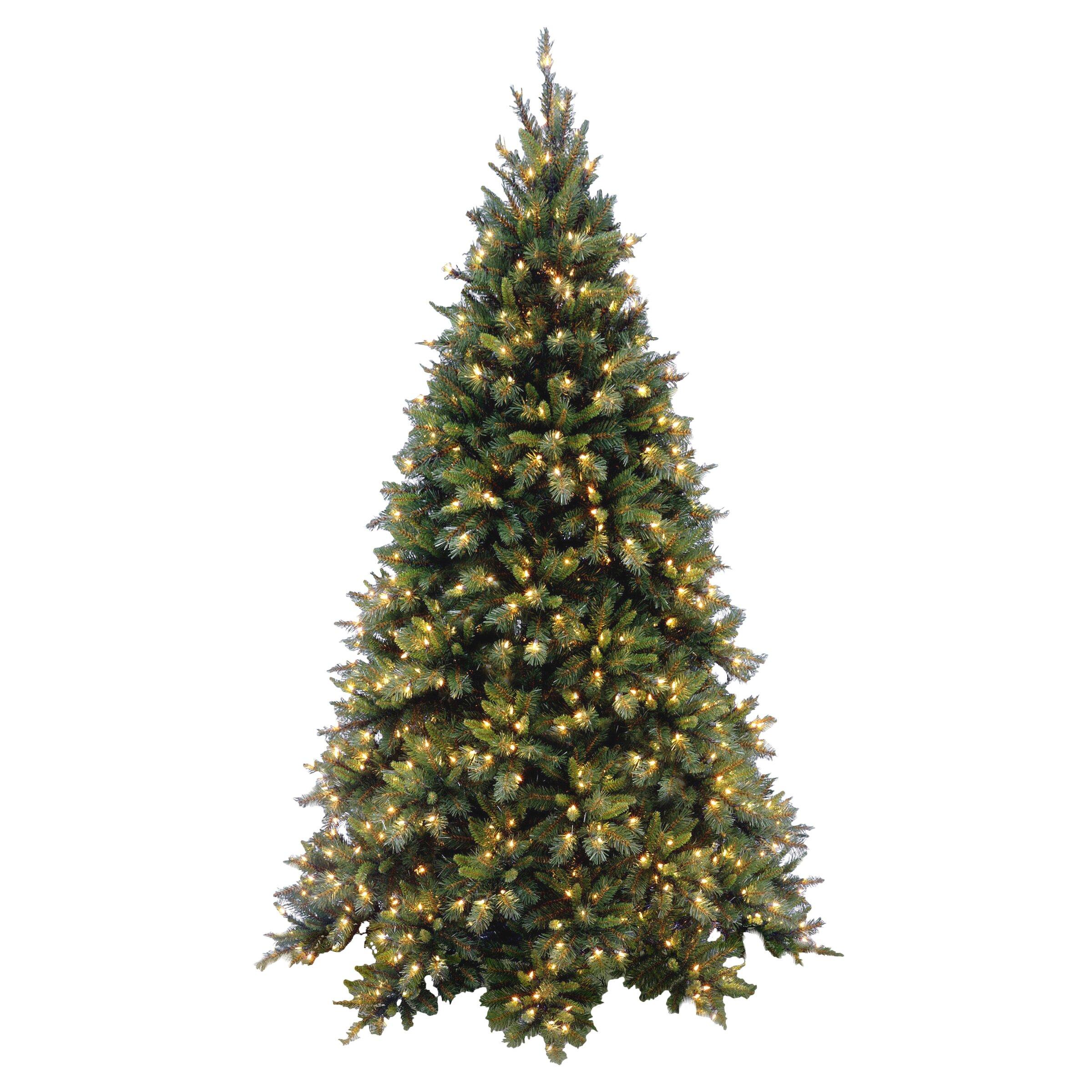 National Tree Co. Tiffany Fir 7.5' Green Artificial Christmas Tree ...