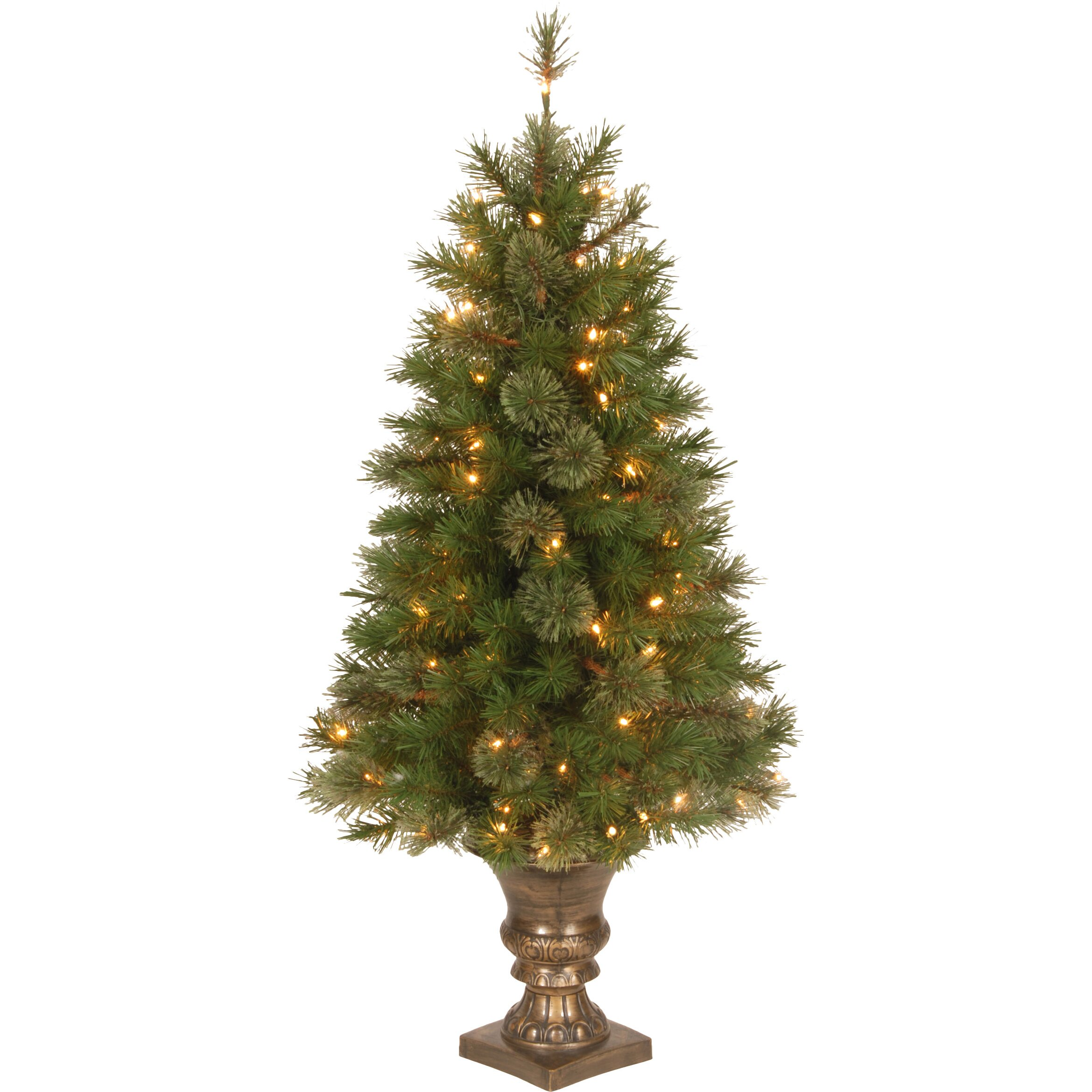 Christmas Tree Company Greytown : National tree co atlanta spruce green artificial