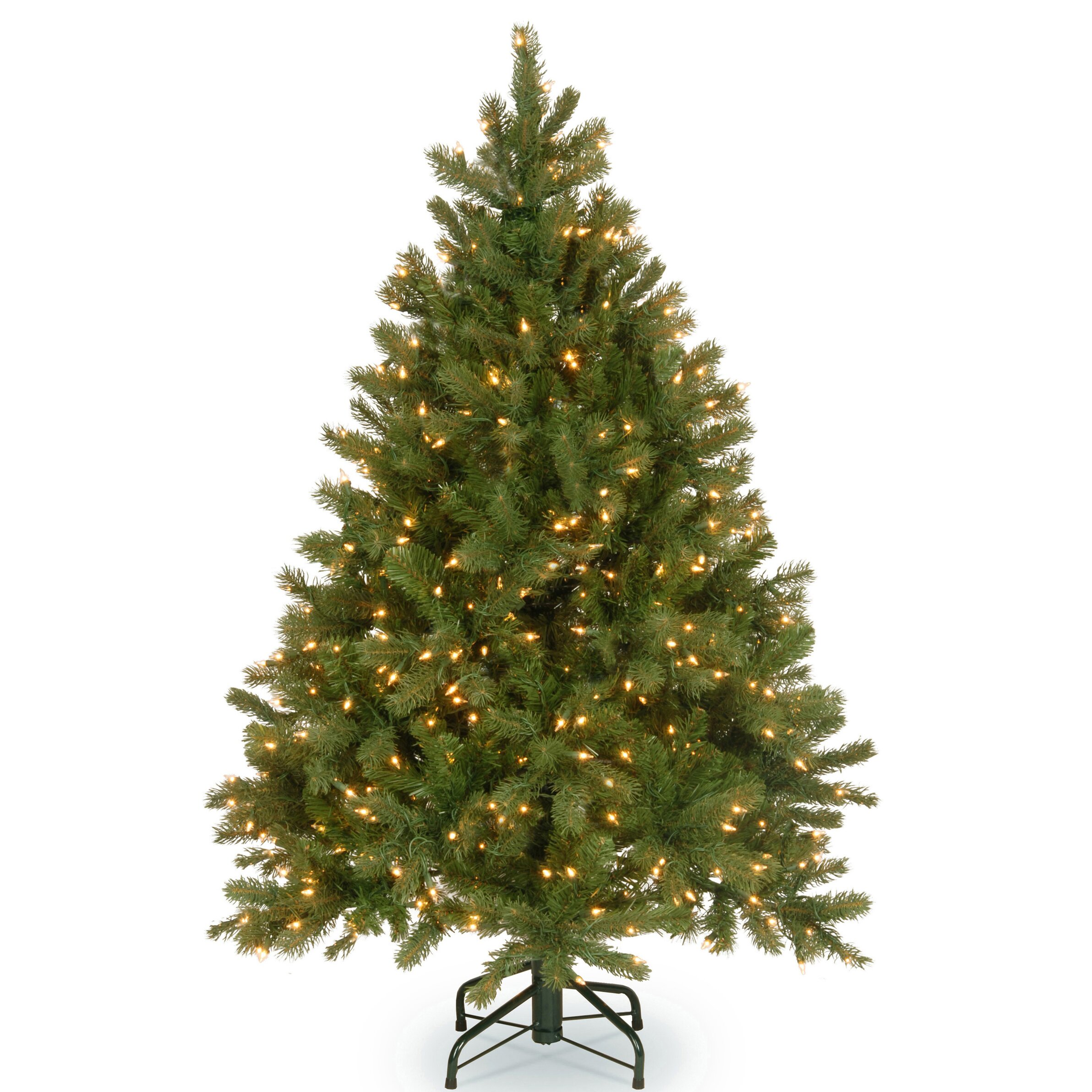 how to make green artificial tree white