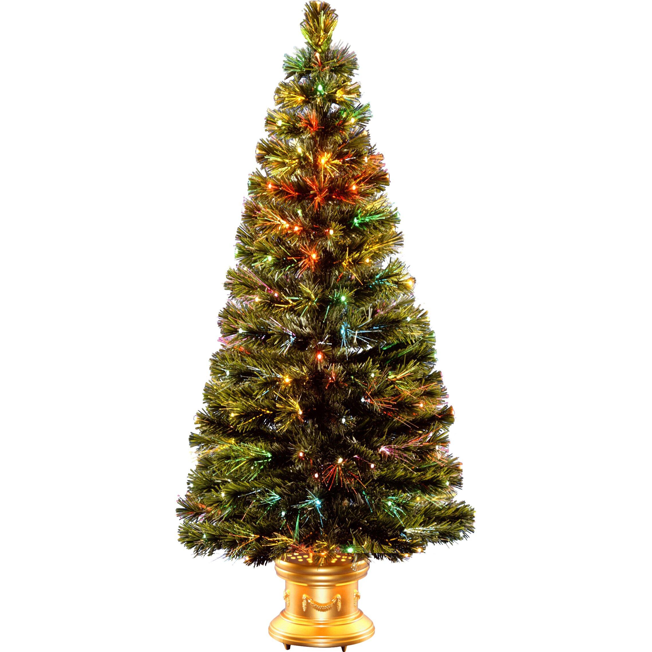 Christmas Tree Company Greytown : National tree co fiber optics radiance fireworks green