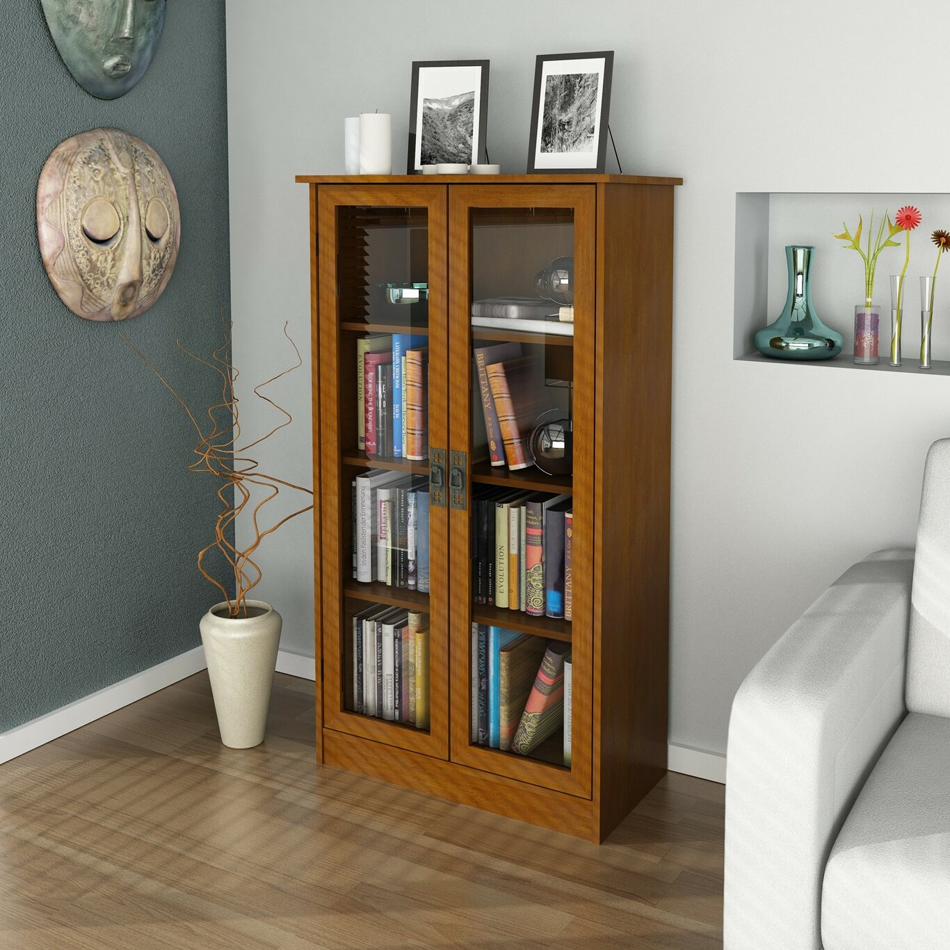 "Altra 53"" Standard Bookcase & Reviews"