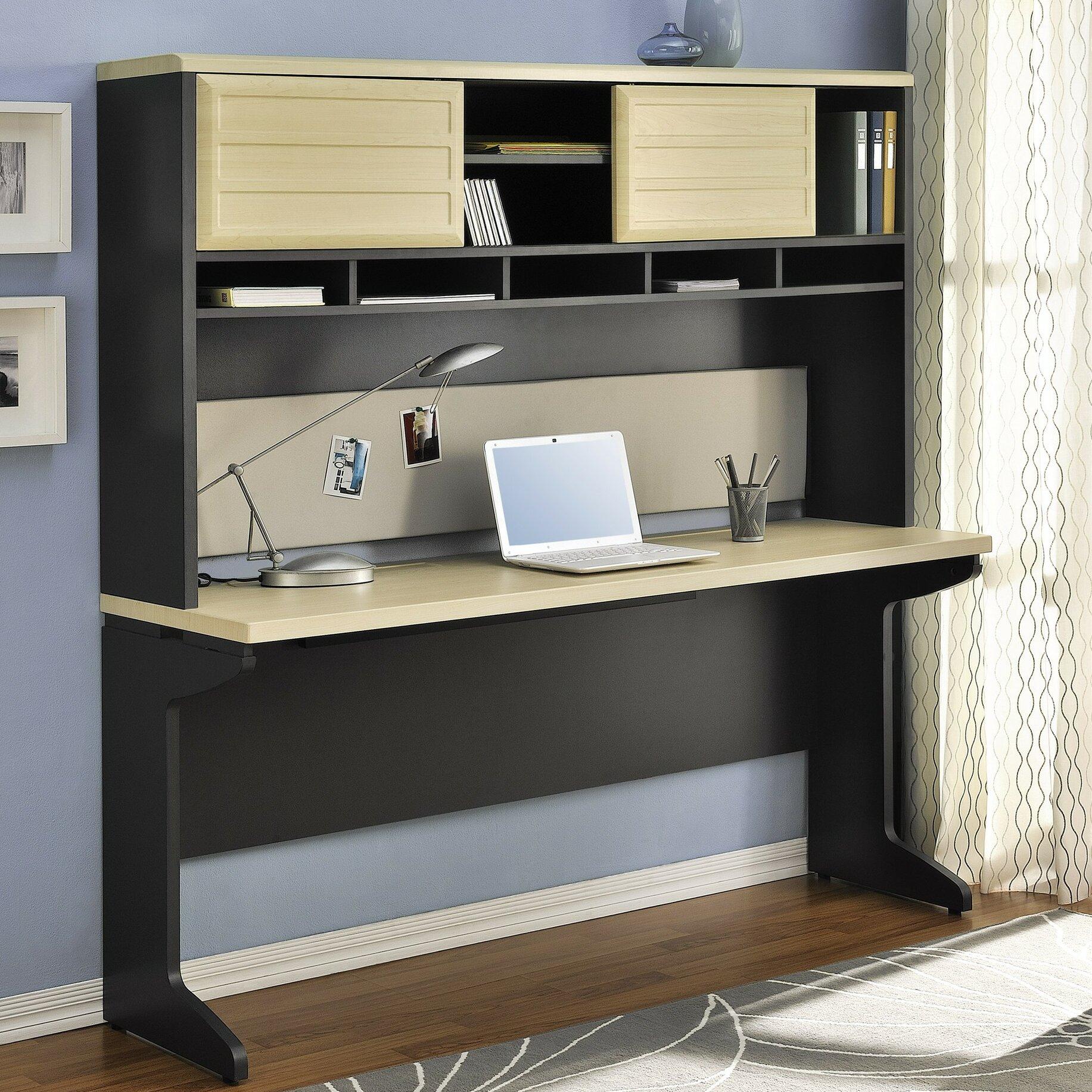 Altra Benjamin Computer Desk And Hutch Bundle Reviews Wayfair