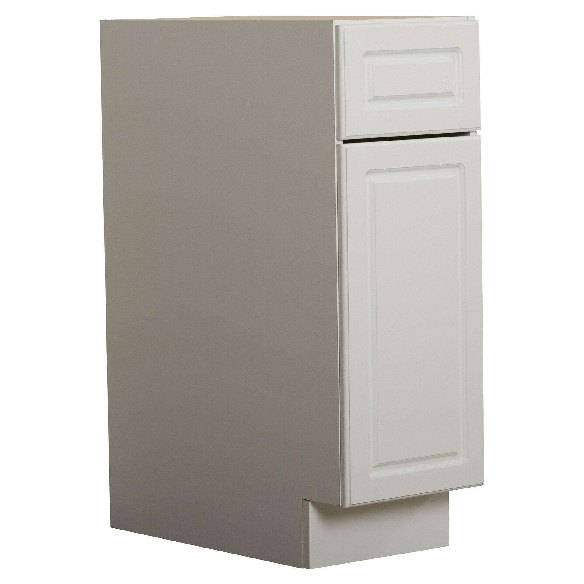 Altra keystone 12 1 drawer door base cabinet wayfair for One day doors and closets reviews