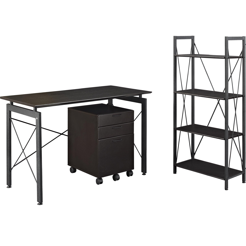 Altra 3 piece standard desk office suite reviews for Furniture 3 piece suites