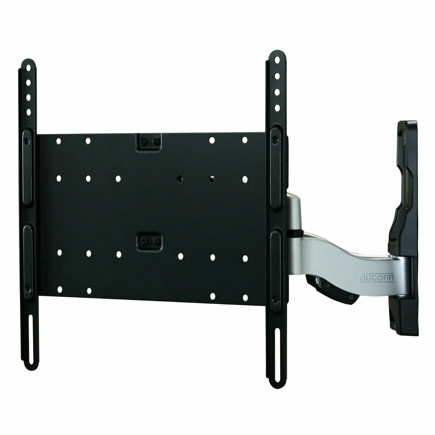 Dyconn invisible xl ultra slim articulating arm tilt swivel wall mount