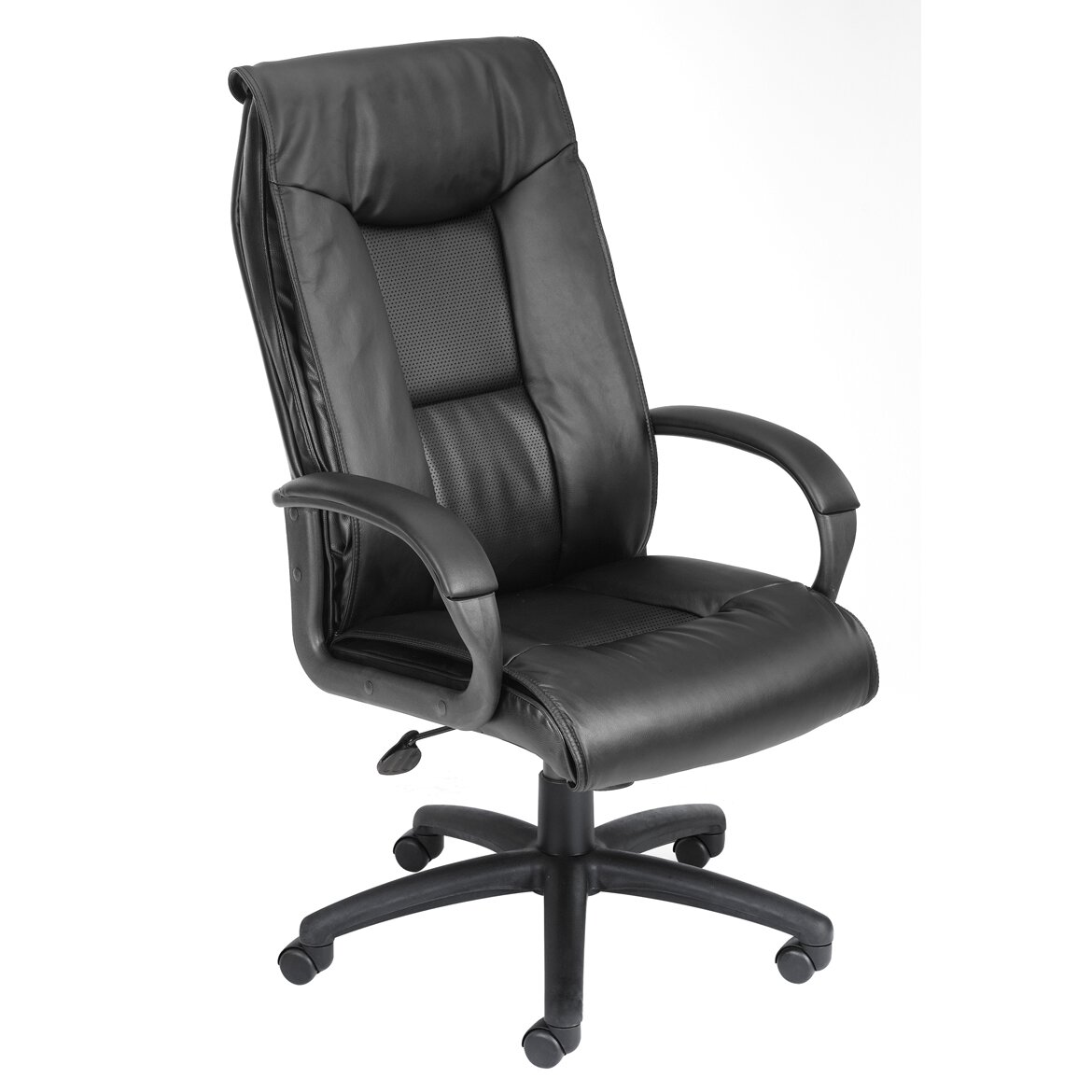 boss office products leather executive chair reviews