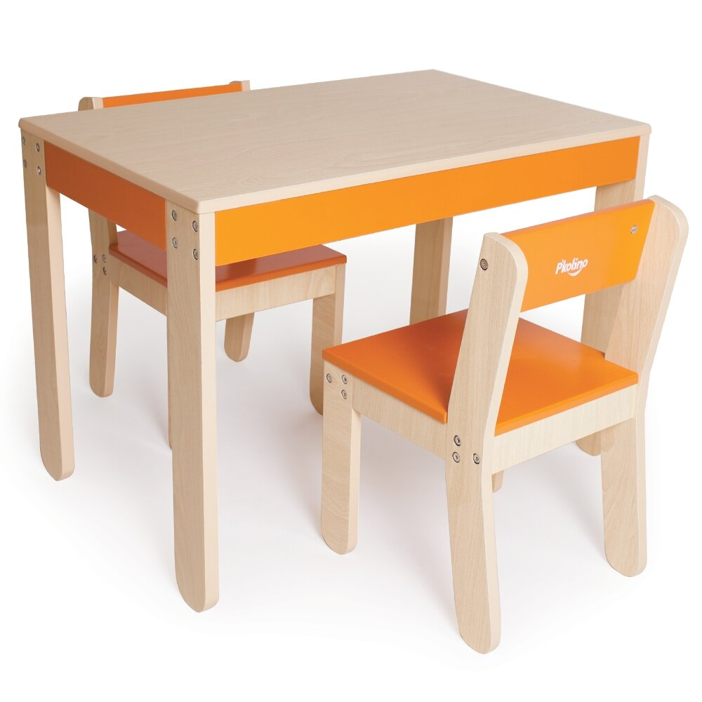 P 39 Kolino Little One 39 S Kids 3 Piece Table Chair Set