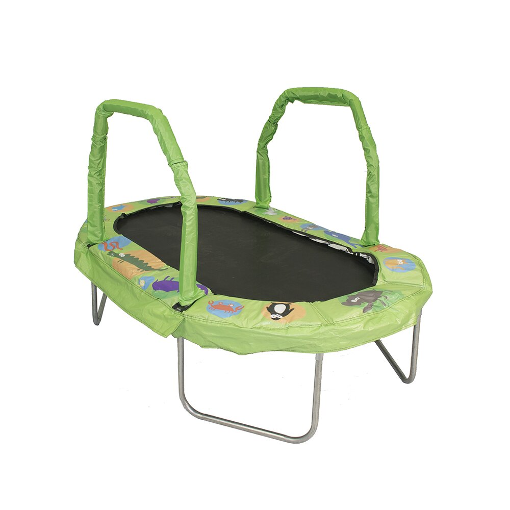 Jumpking Mini Oval Trampoline With Pad & Reviews