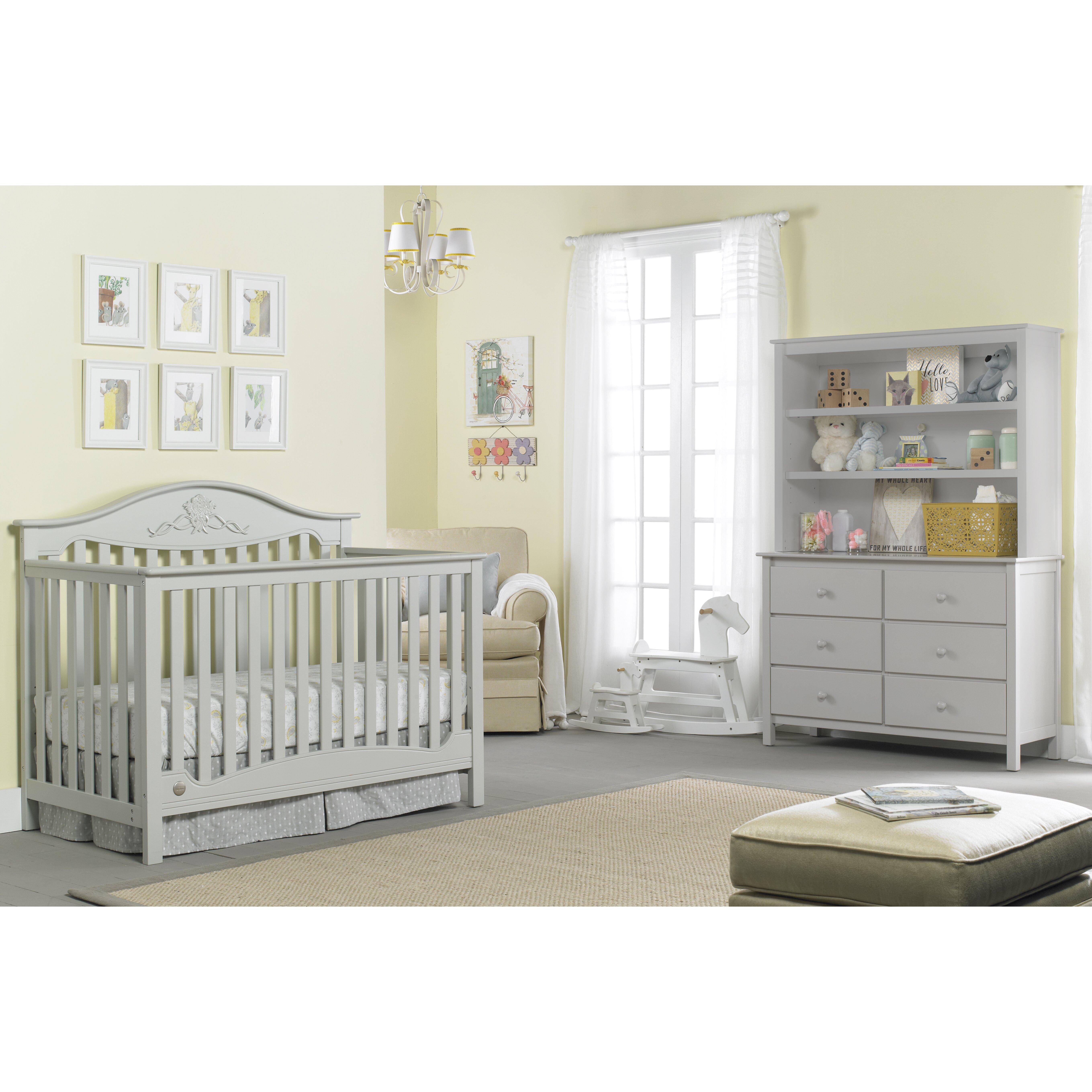 Fisher-Price Mia 4-in-1 Convertible Crib & Reviews | Wayfair