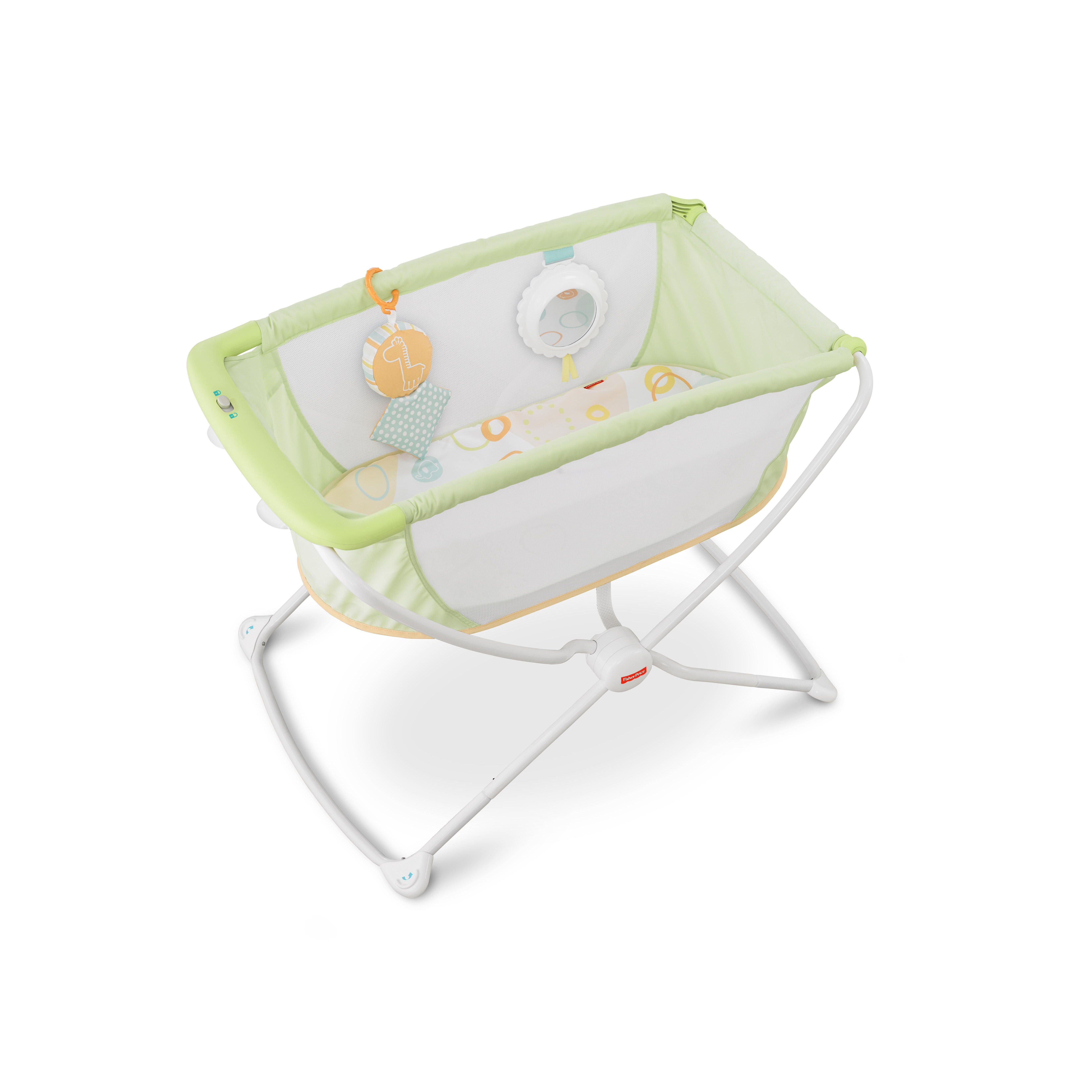 Fisher price rock and play portable bassinet reviews Portable bassinet