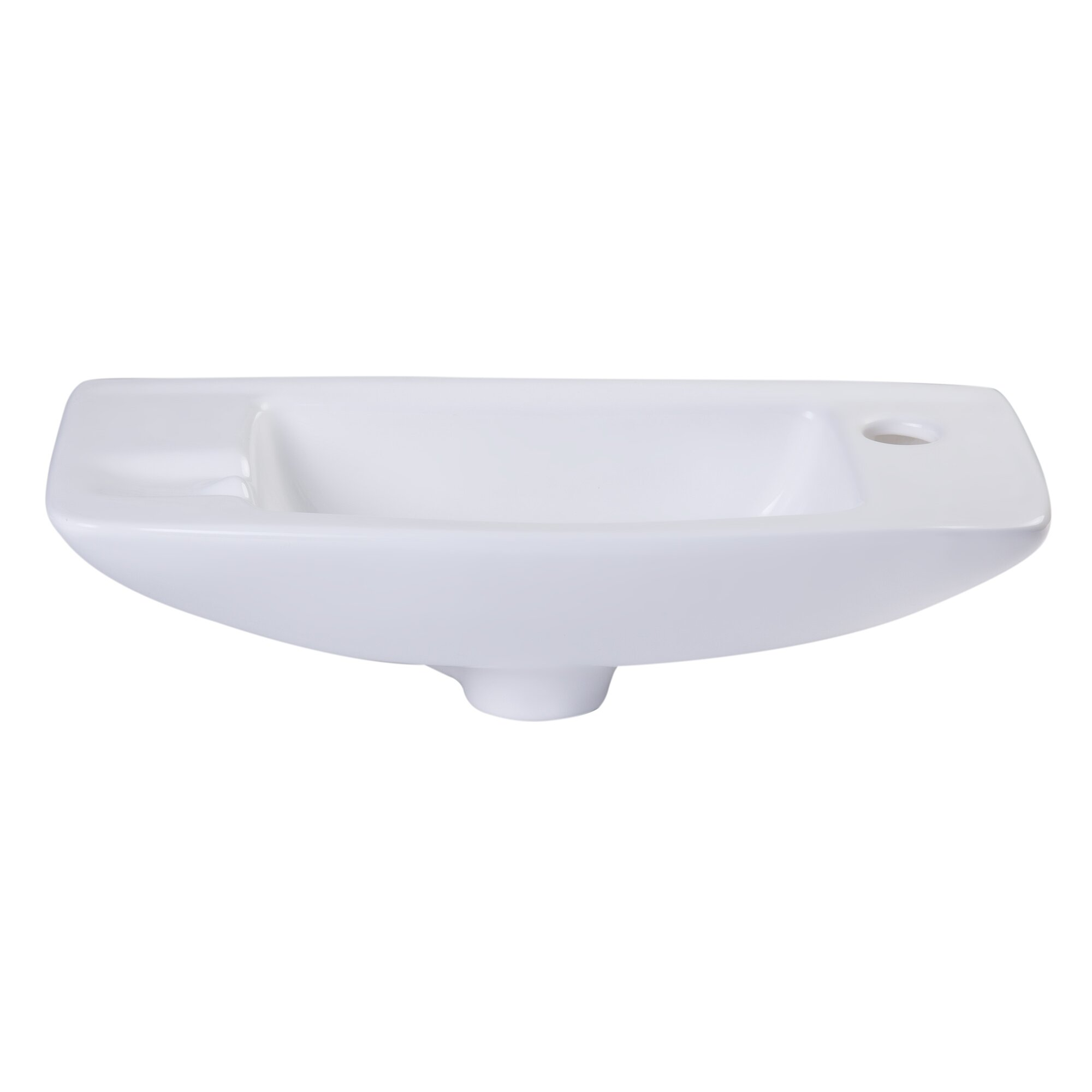 Bathroom Sink Brands : Small Wall Mount Bathroom Sink by Alfi Brand