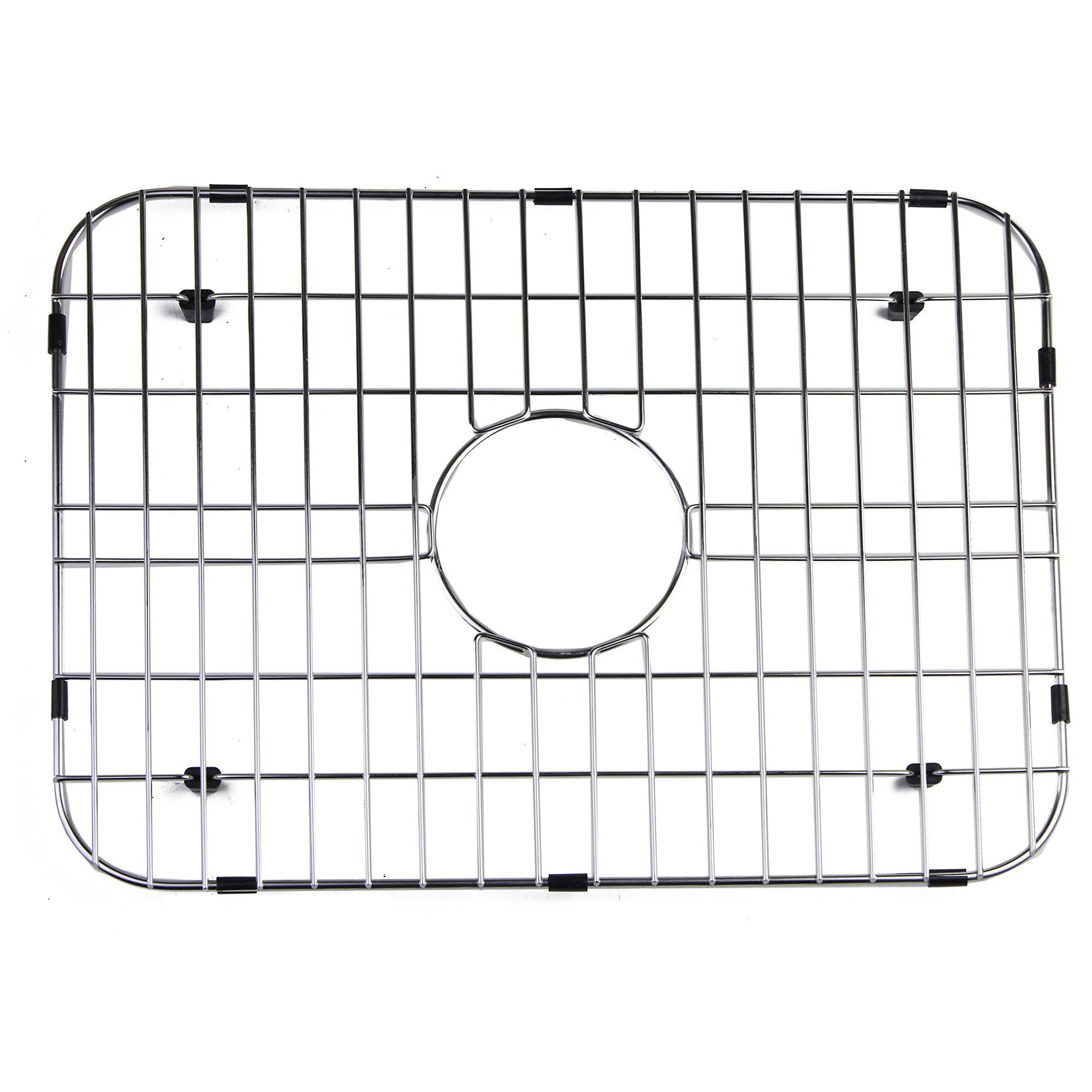 Kitchen Sink Grid: Alfi Brand Solid Stainless Steel Kitchen Sink Grid