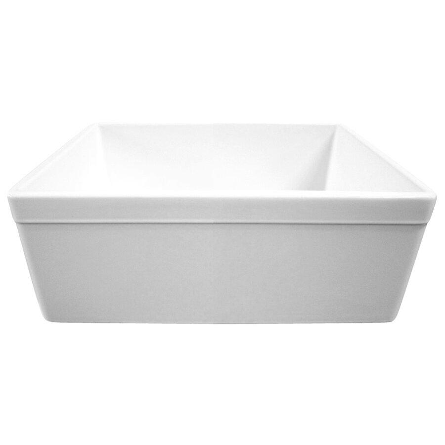Alfi Brand 26 X 20 Single Bowl Farmhouse Kitchen Sink Reviews Wayfair