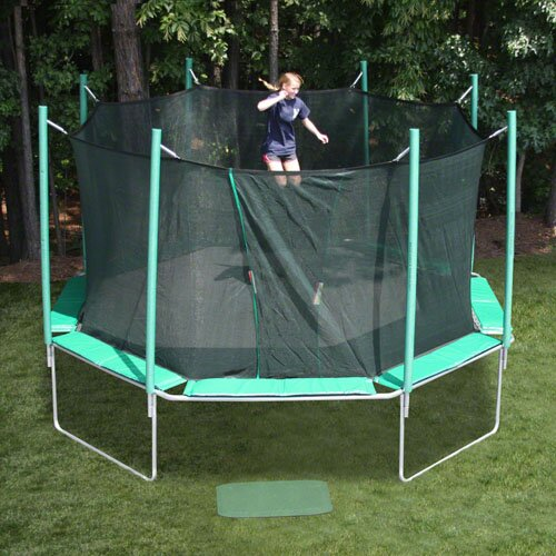 Kidwise Jumpfree 15 Ft Trampoline And Safety Enclosure: Kidwise 16' Octagon Magic Circle Trampoline & Reviews