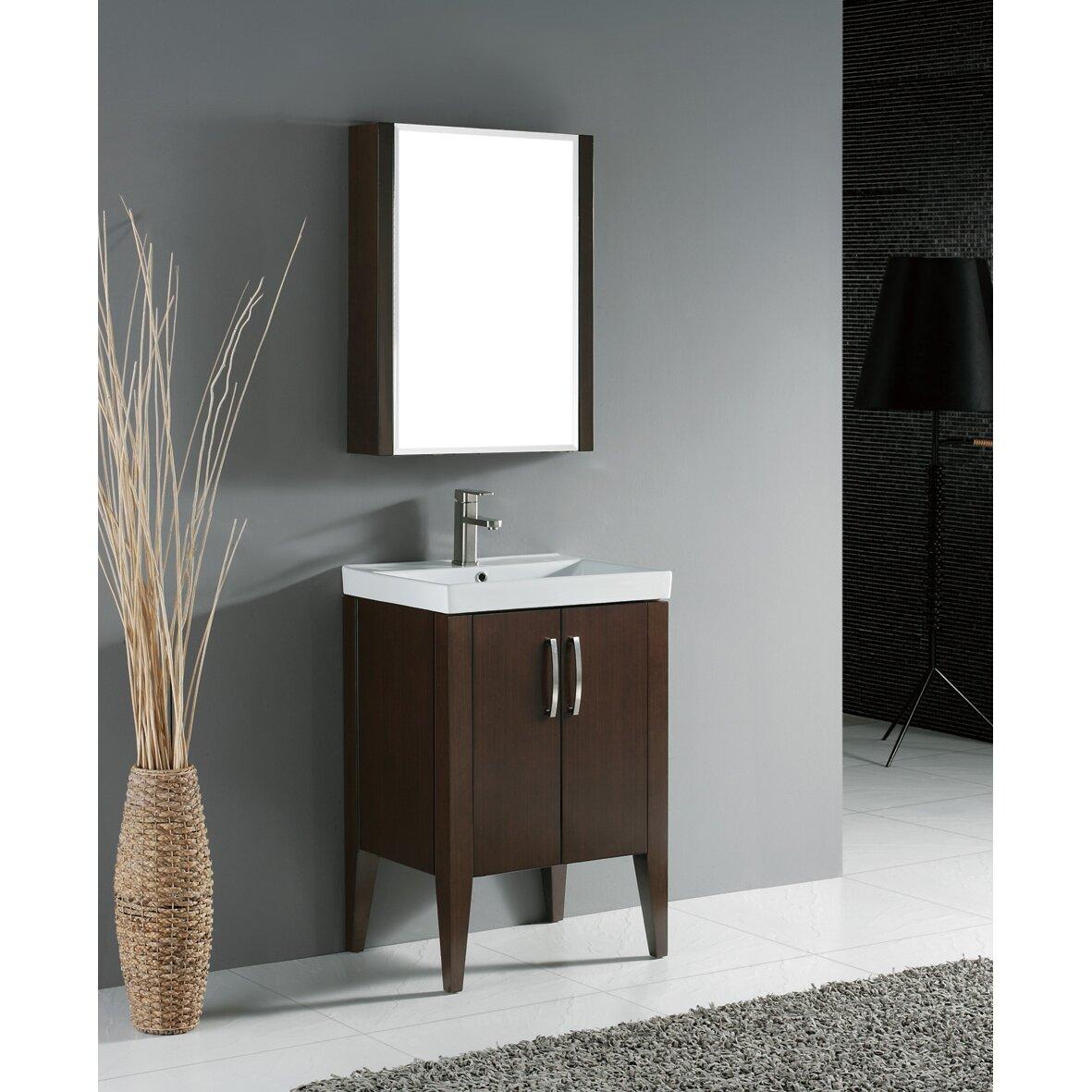 "Madeli Caserta 24"" Single Bathroom Vanity Set & Reviews ..."