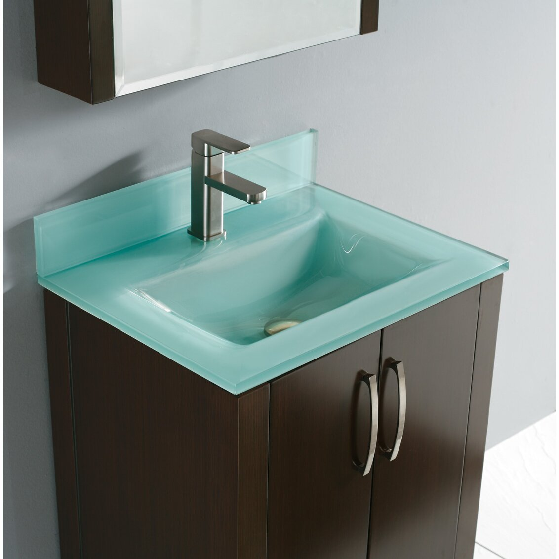 Madeli Caserta 24 Single Bathroom Vanity Set With Mirror Reviews Wayfair