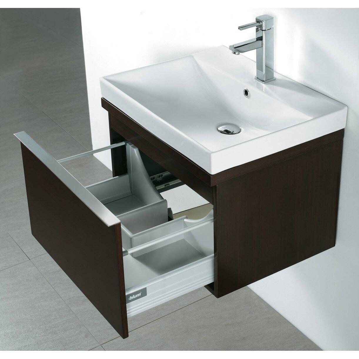"Madeli Venasca 24"" Single Wall Mount Bathroom Vanity Set ..."