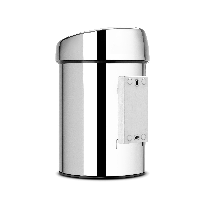 brabantia 3l touch top metal bin wayfair uk. Black Bedroom Furniture Sets. Home Design Ideas