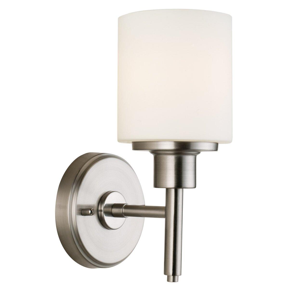 Wayfair Indoor Wall Sconces : Design House Aubrey 1 Light Wall Light & Reviews Wayfair
