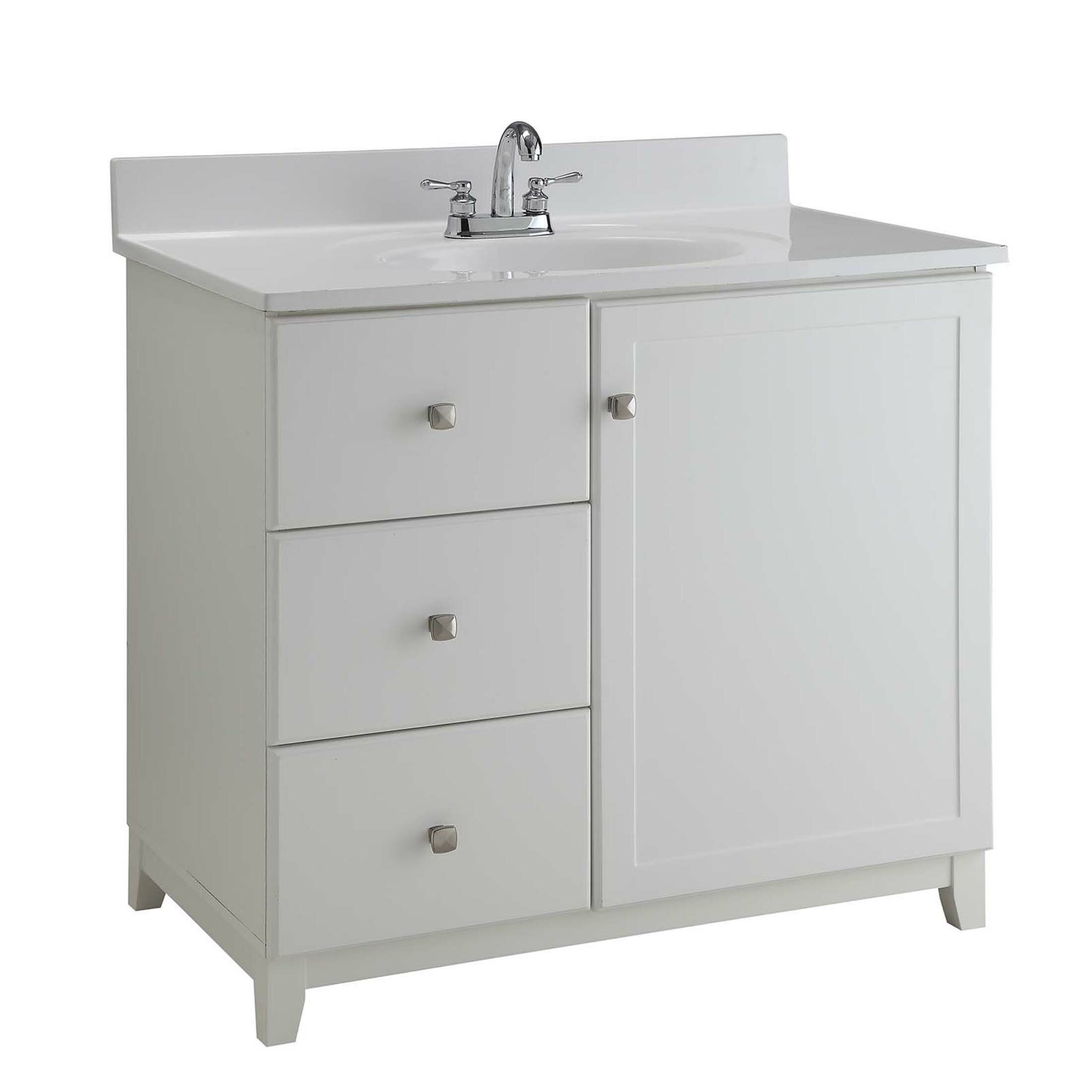 Design house 30 single bathroom vanity base - What is vanity in design this home ...