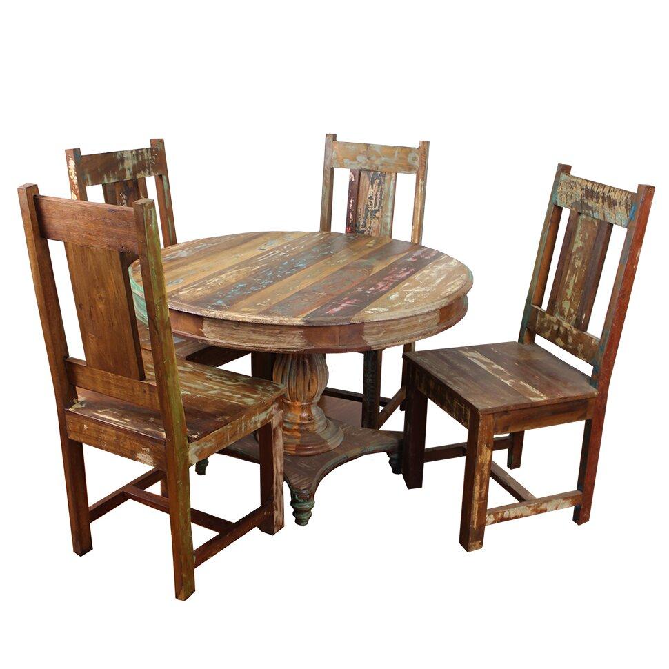 Moti Furniture Trinidad 5 Piece Dining Set Reviews