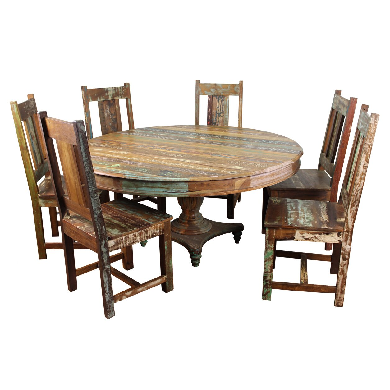 Moti furniture trinidad piece dining set reviews wayfair