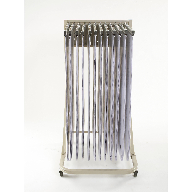 Brookside design vertical mobile rack filing cart - Mobel reck ...