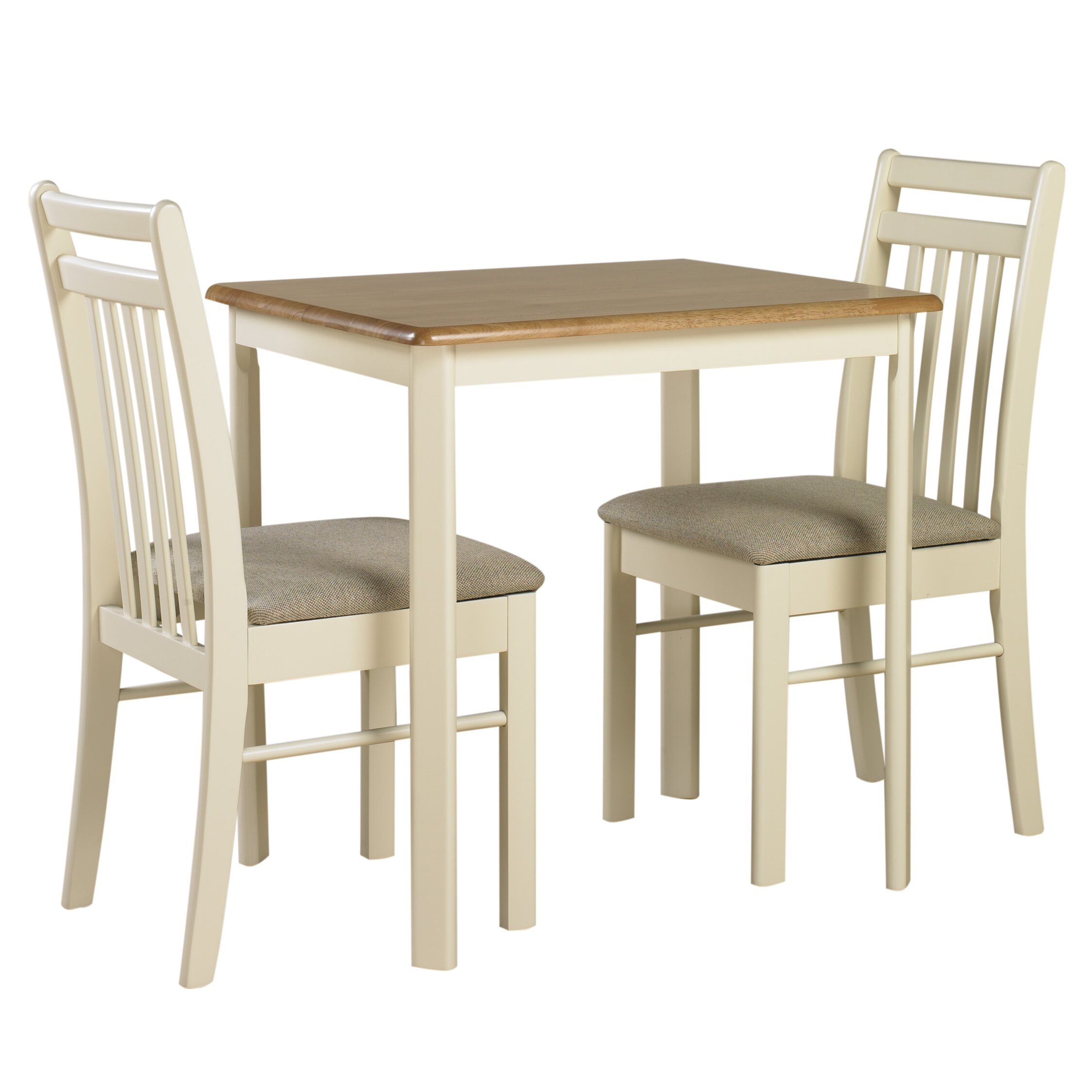 Origin Red Ascot Dining Table And 2 Chairs