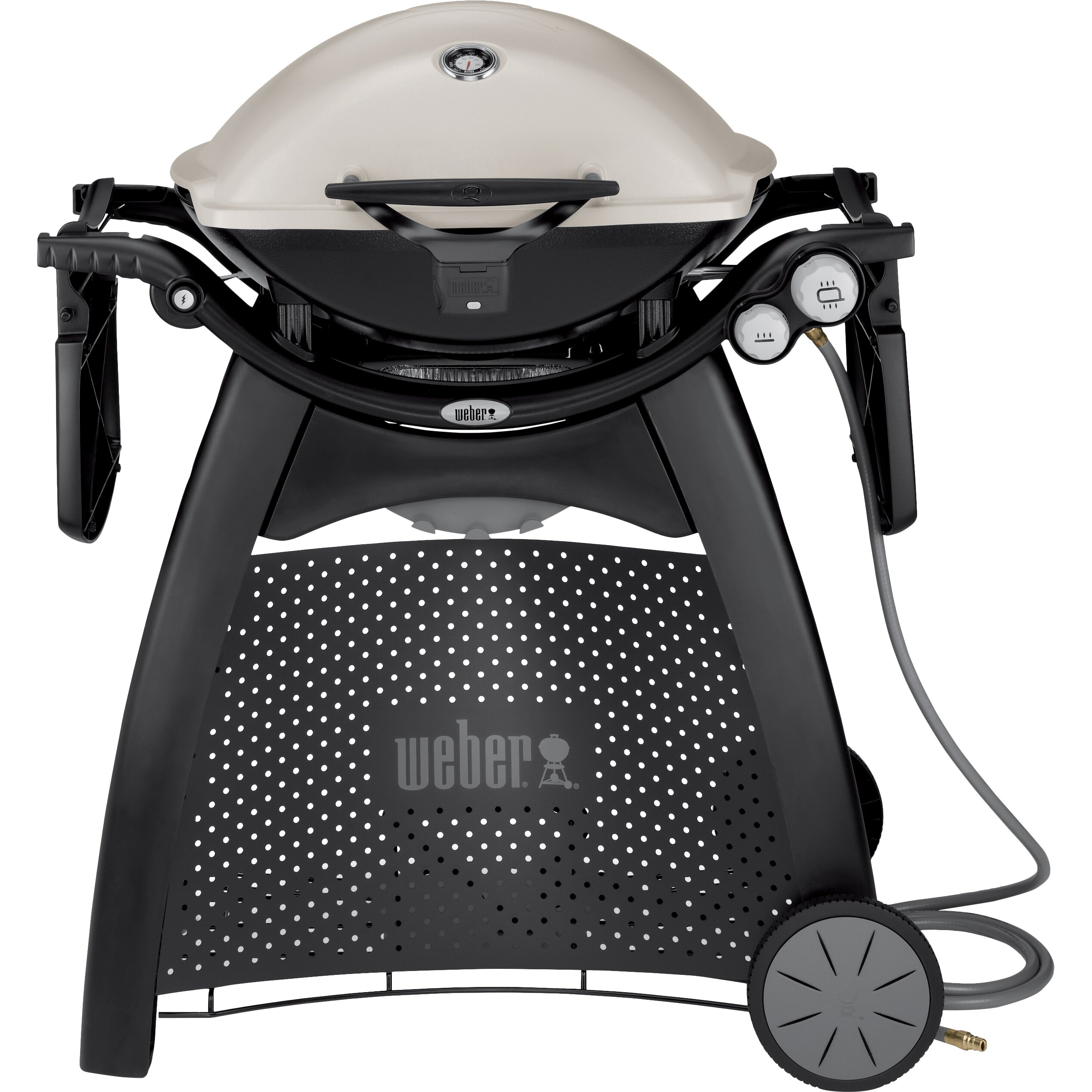 weber q series 3200 titanium propane grill reviews wayfair. Black Bedroom Furniture Sets. Home Design Ideas