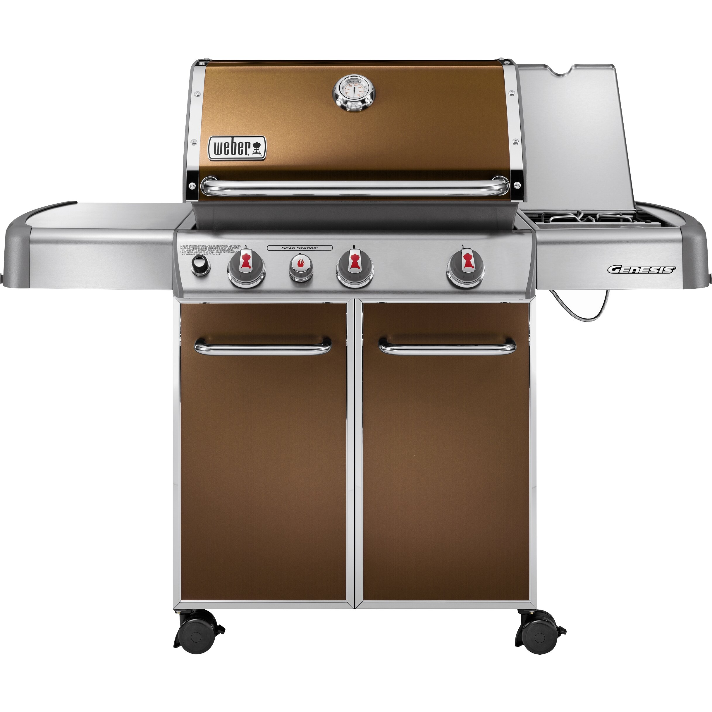 weber genesis e 330 gas grill reviews wayfair. Black Bedroom Furniture Sets. Home Design Ideas