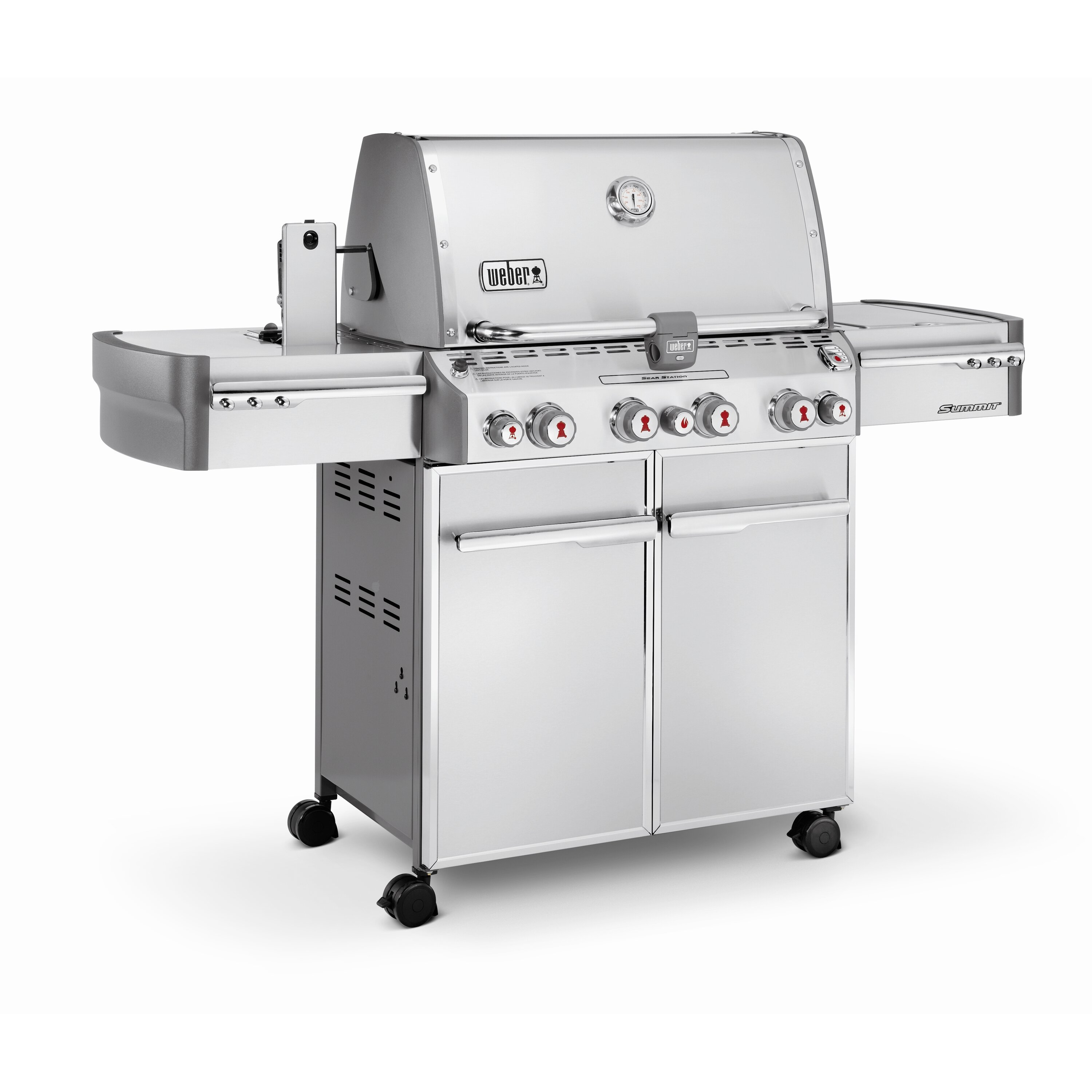 weber summit s 470 gas grill reviews wayfair. Black Bedroom Furniture Sets. Home Design Ideas