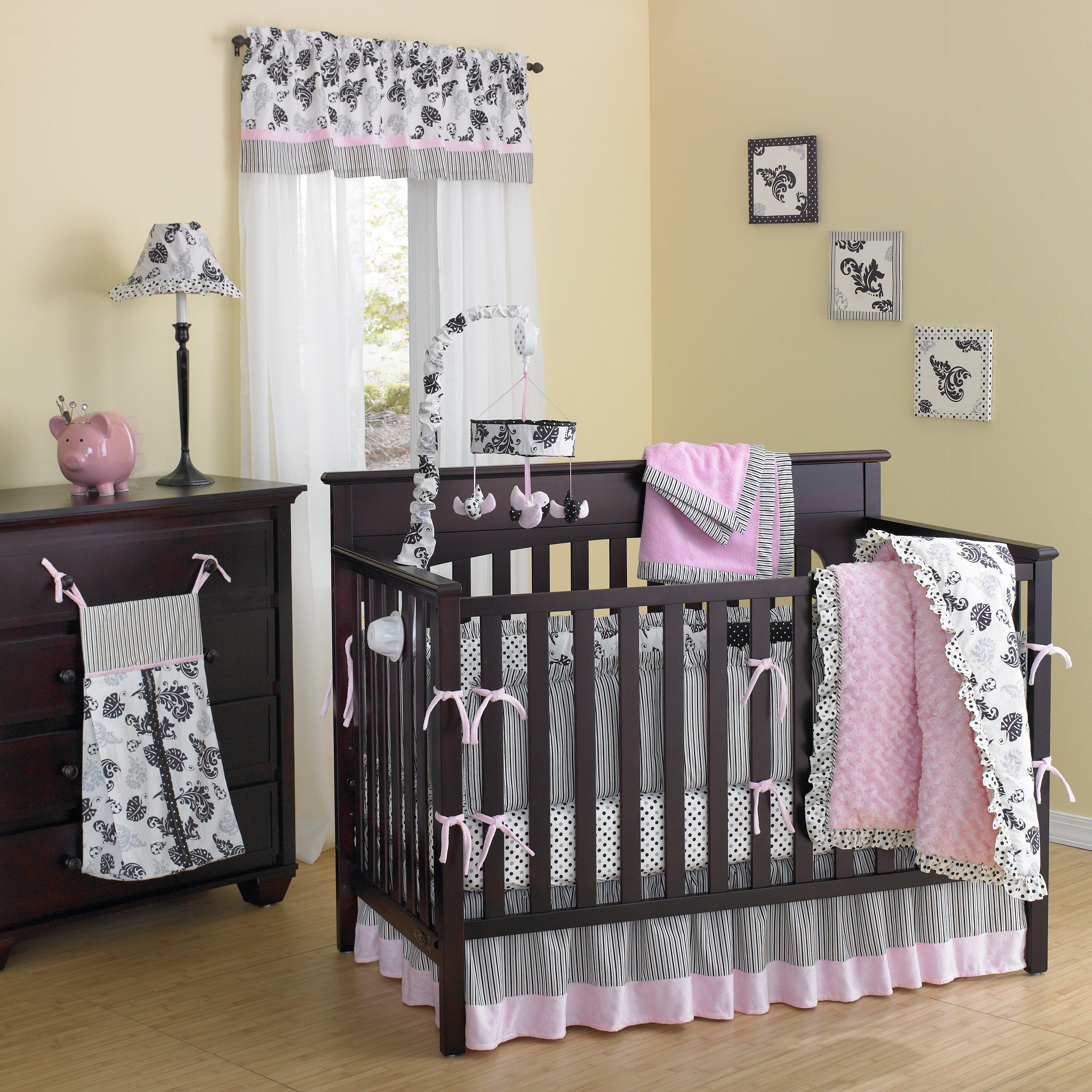 Smile Versailles Pink 10 Piece Crib Bedding Set U0026 Reviews Wayfair