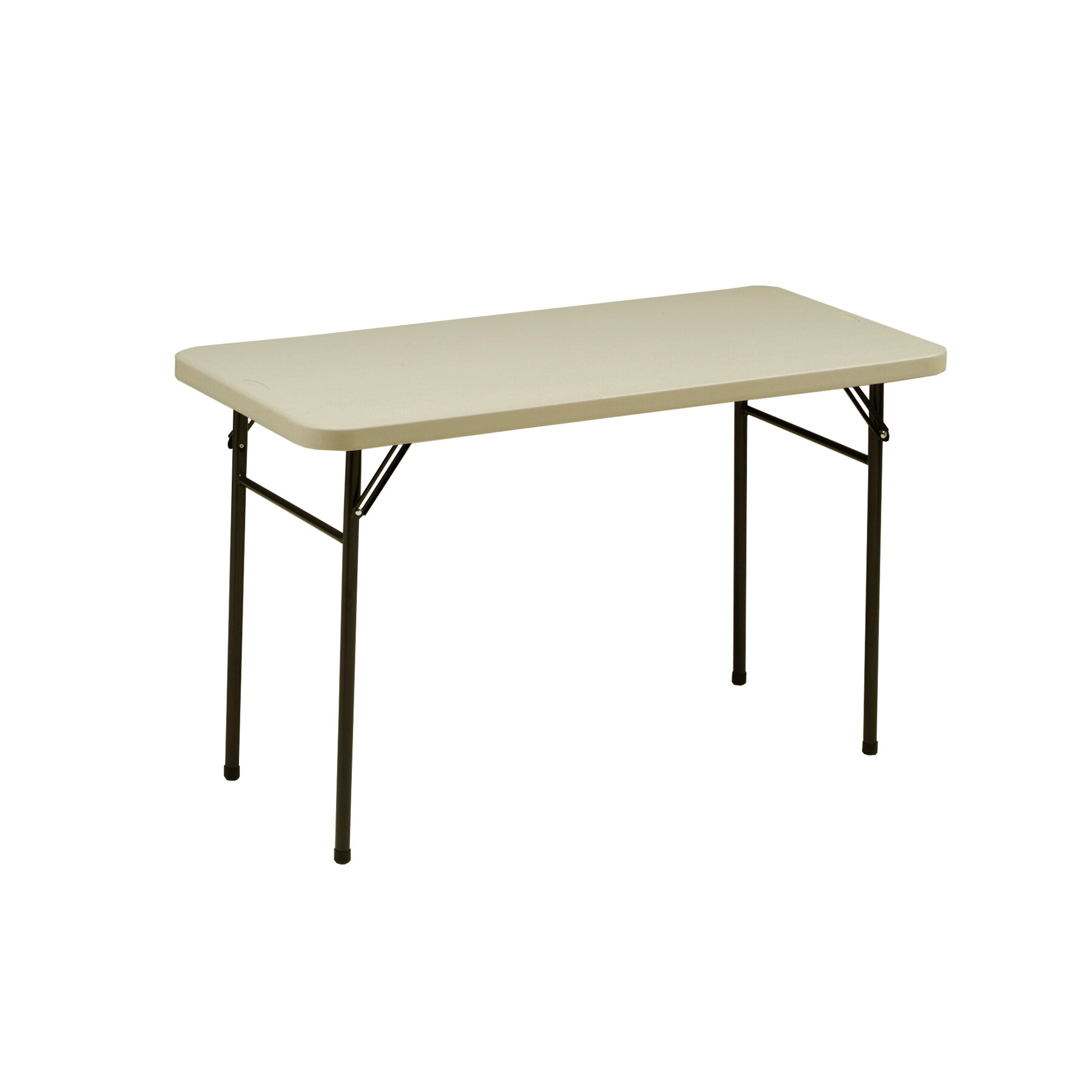 Meco 48 rectangular folding table reviews wayfair for 12 in 1 game table walmart