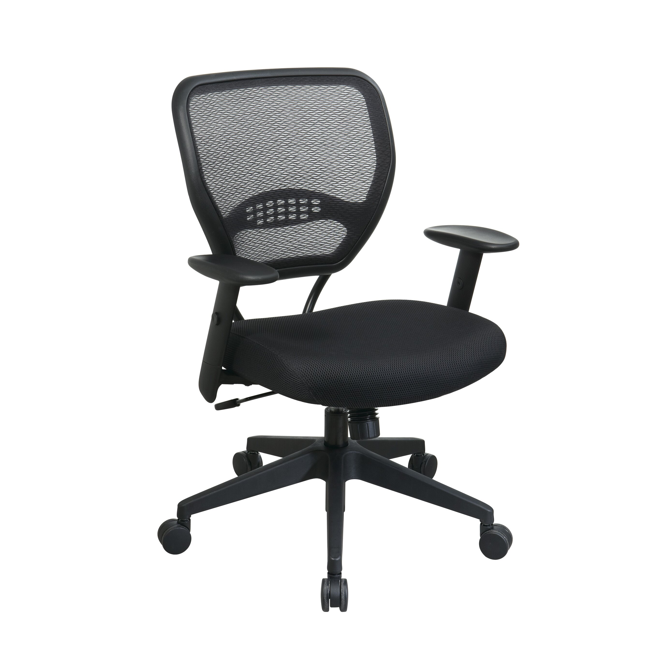 office star space mid back mesh desk chair reviews wayfair