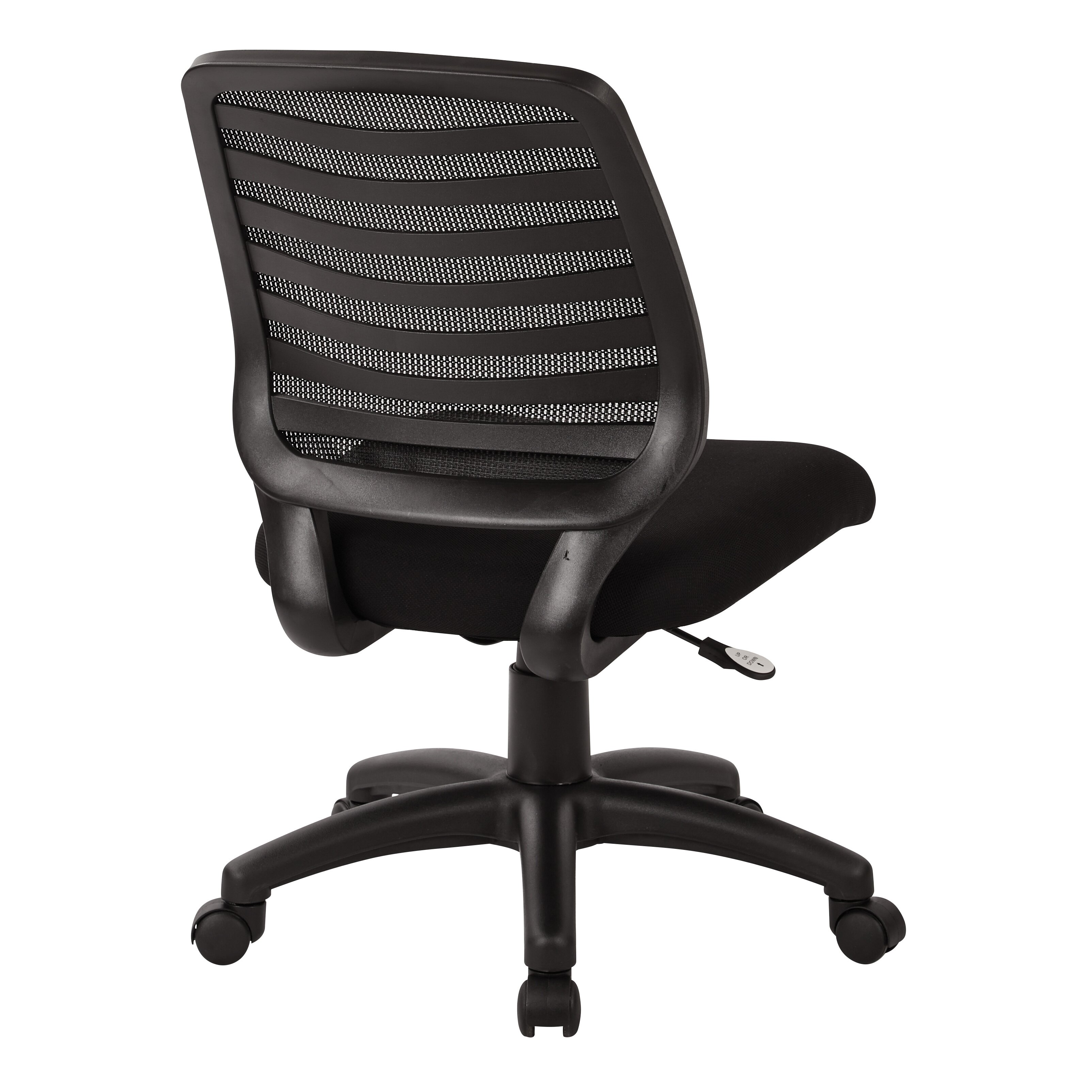 Office Star Screen Back Mid-Back Mesh Task Chair With T