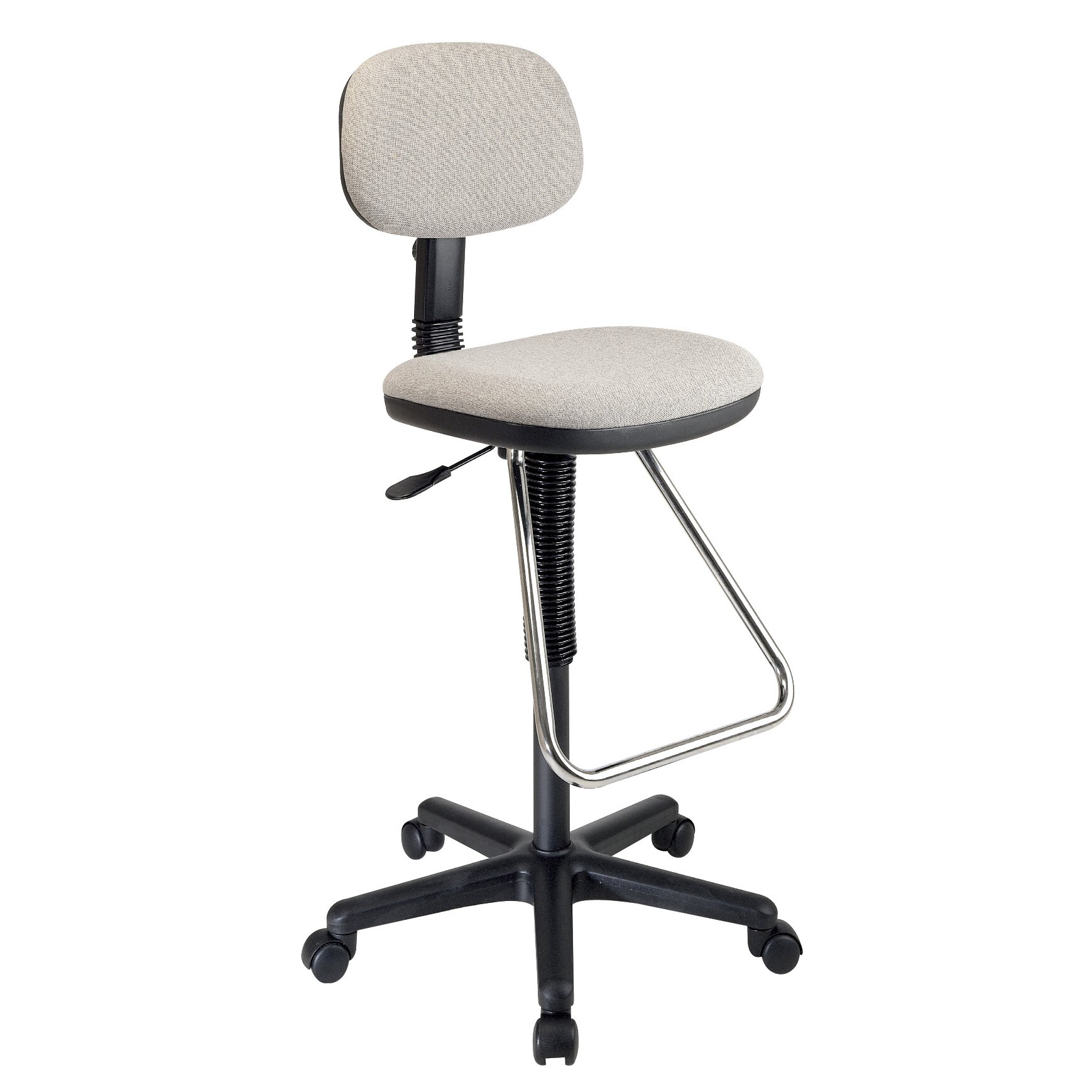 office star height adjustable drafting chair with footrest reviews wayfair supply. Black Bedroom Furniture Sets. Home Design Ideas